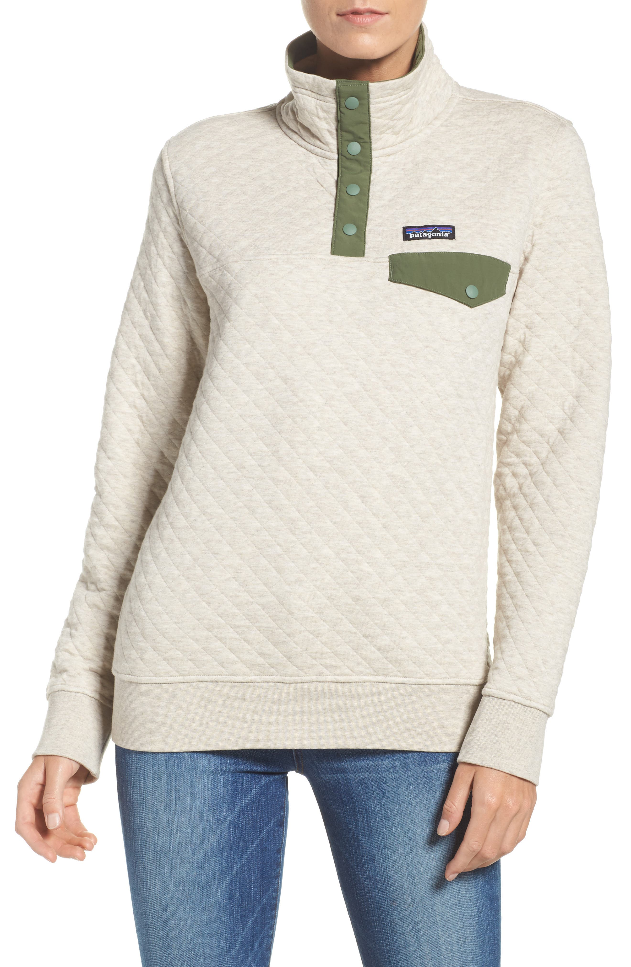 Main Image - Patagonia Snap-T® Quilted Pullover