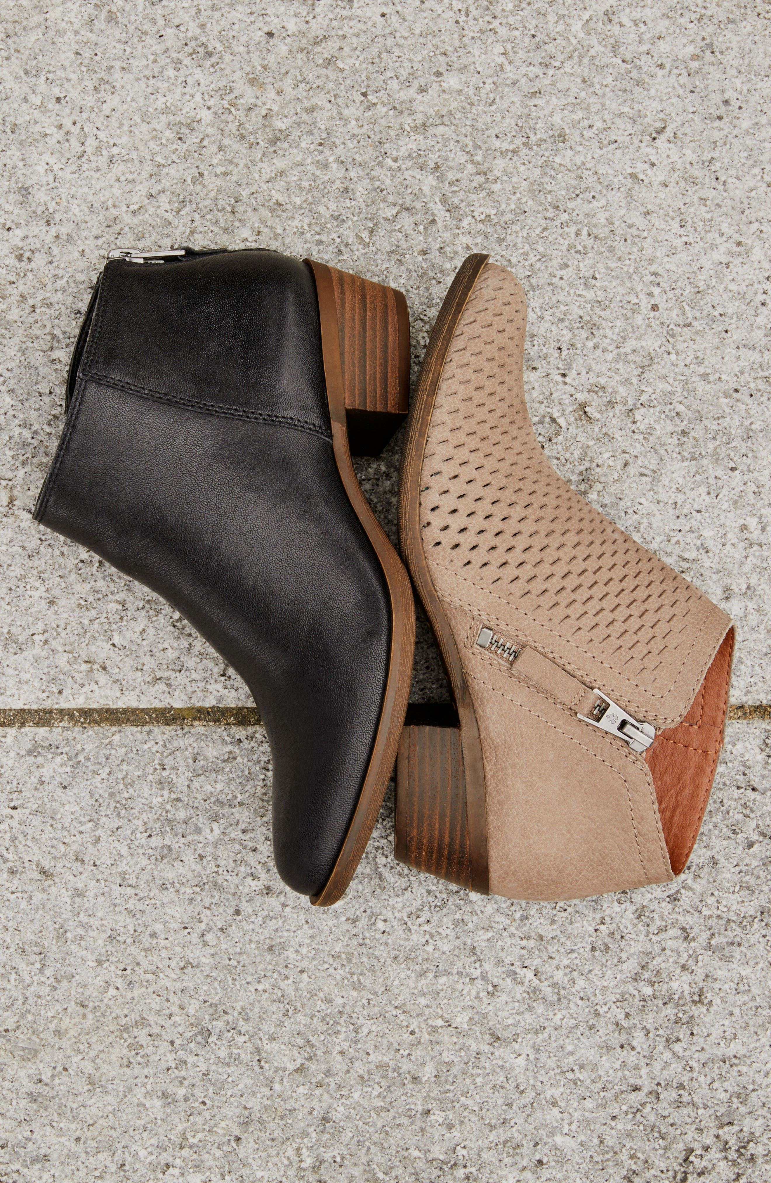 Alternate Image 9  - Lucky Brand Brielley Perforated Bootie (Women)