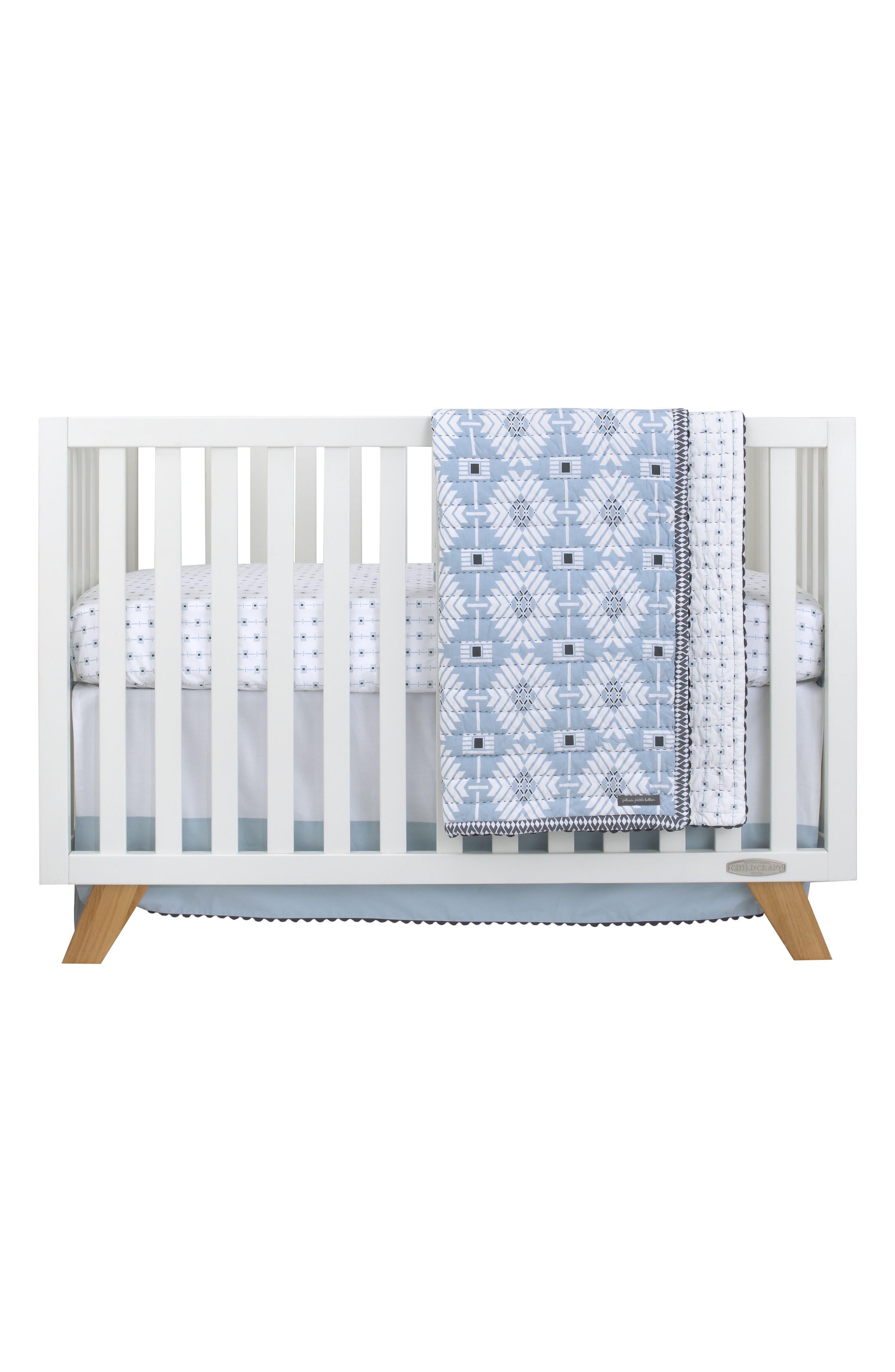 Southwest Skies 3-Piece Bedding Set,                         Main,                         color, Light Blue