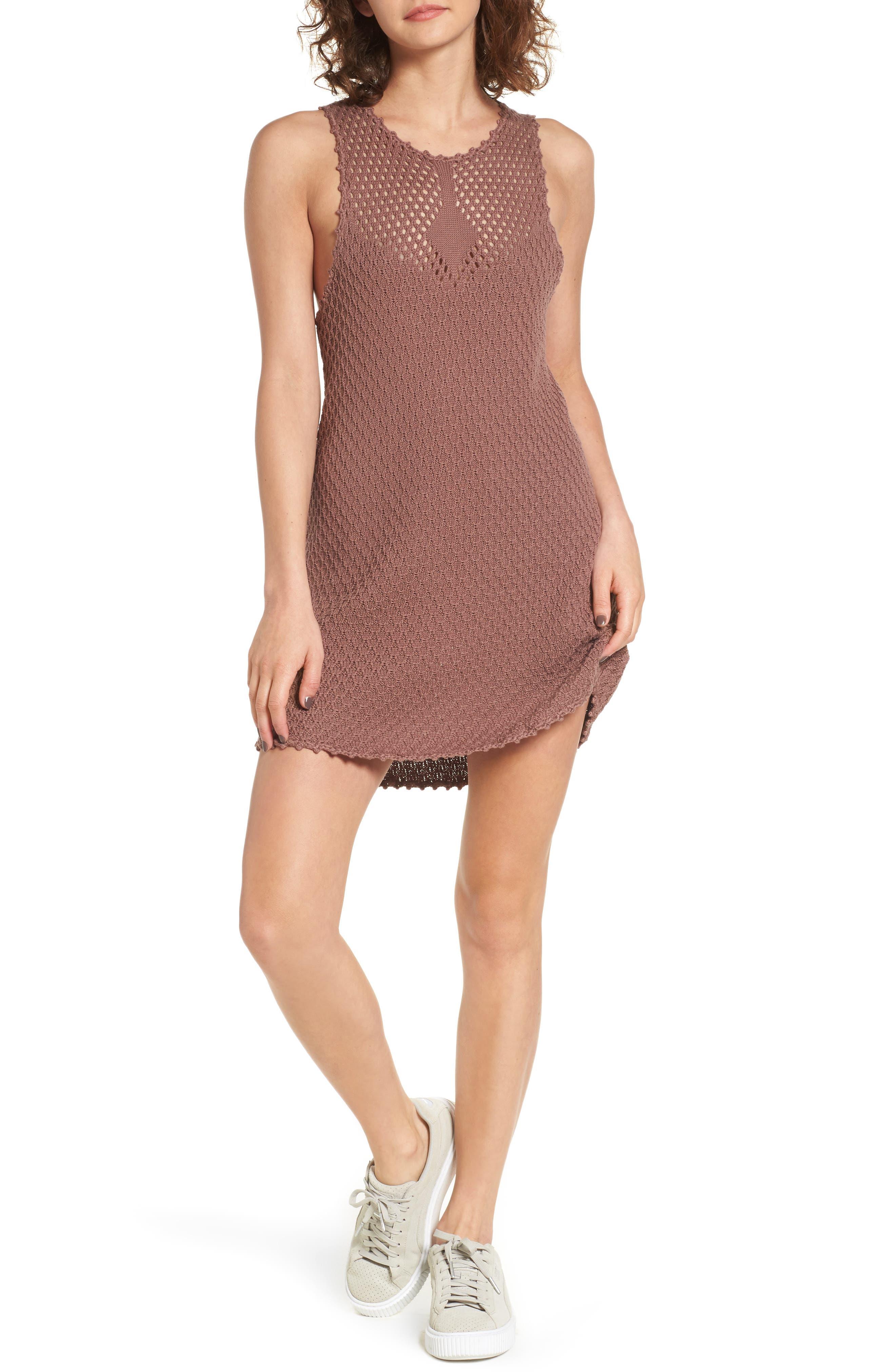 Juno Knit Dress,                         Main,                         color, Twilight Mauve