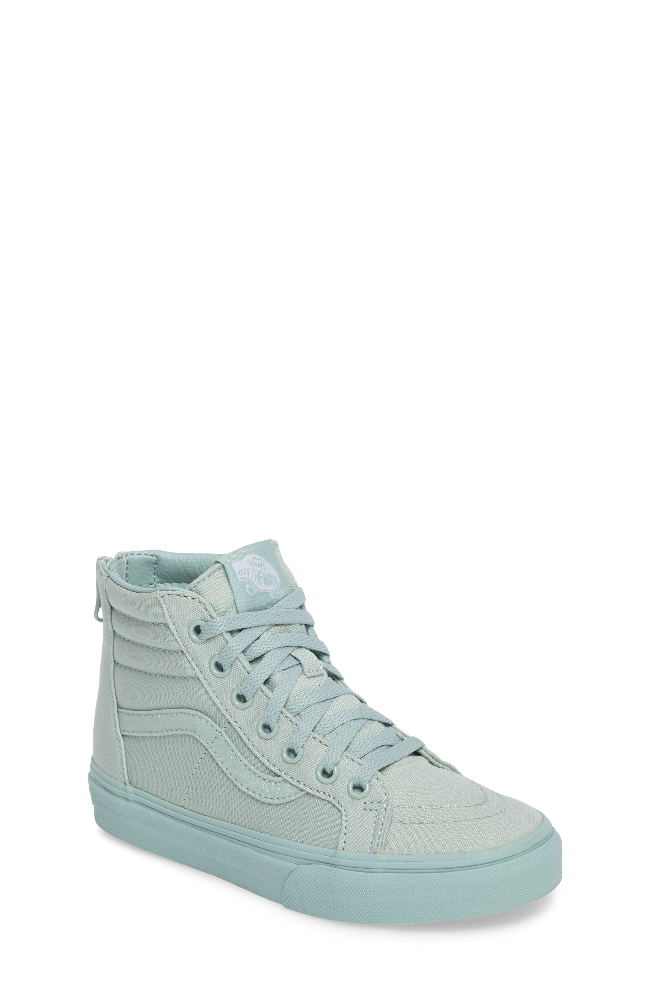 Alternate Image 1 Selected - Vans SK8-Hi Zip Sneaker (Baby, Walker, Toddler, Little Kid & Big Kid)