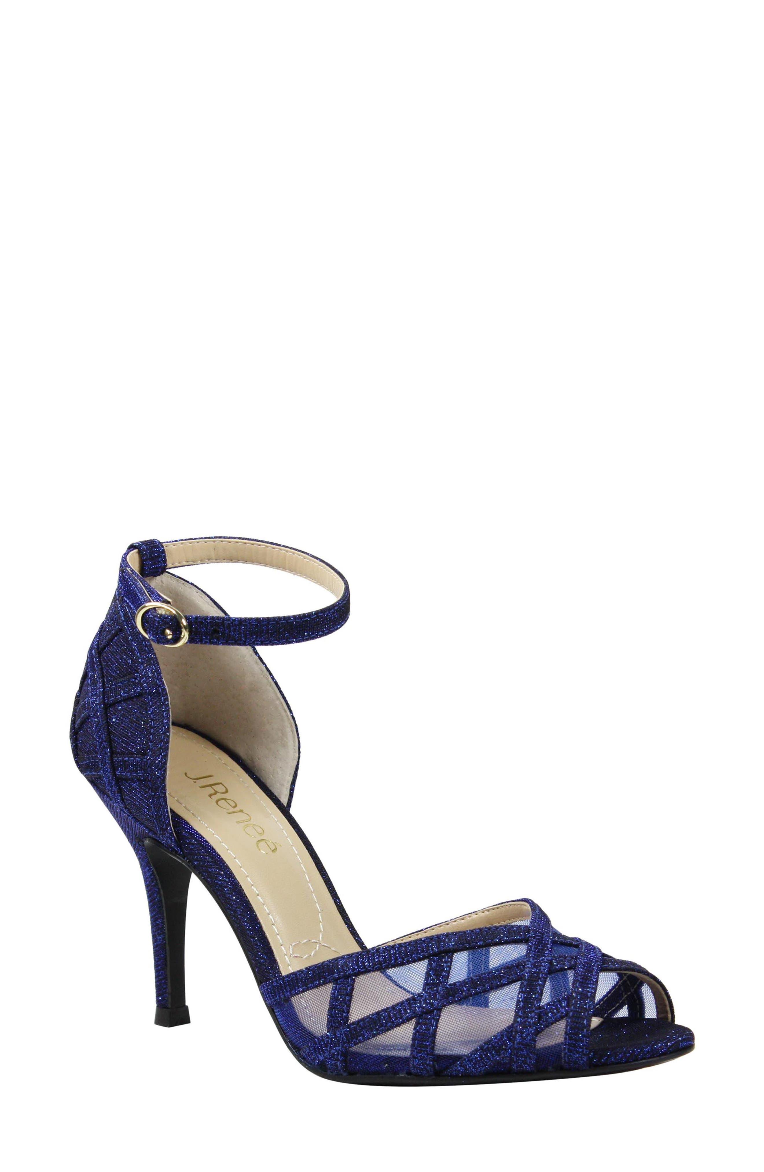 Alternate Image 1 Selected - J. Reneé Mataro Embellished Ankle Strap Pump (Women)