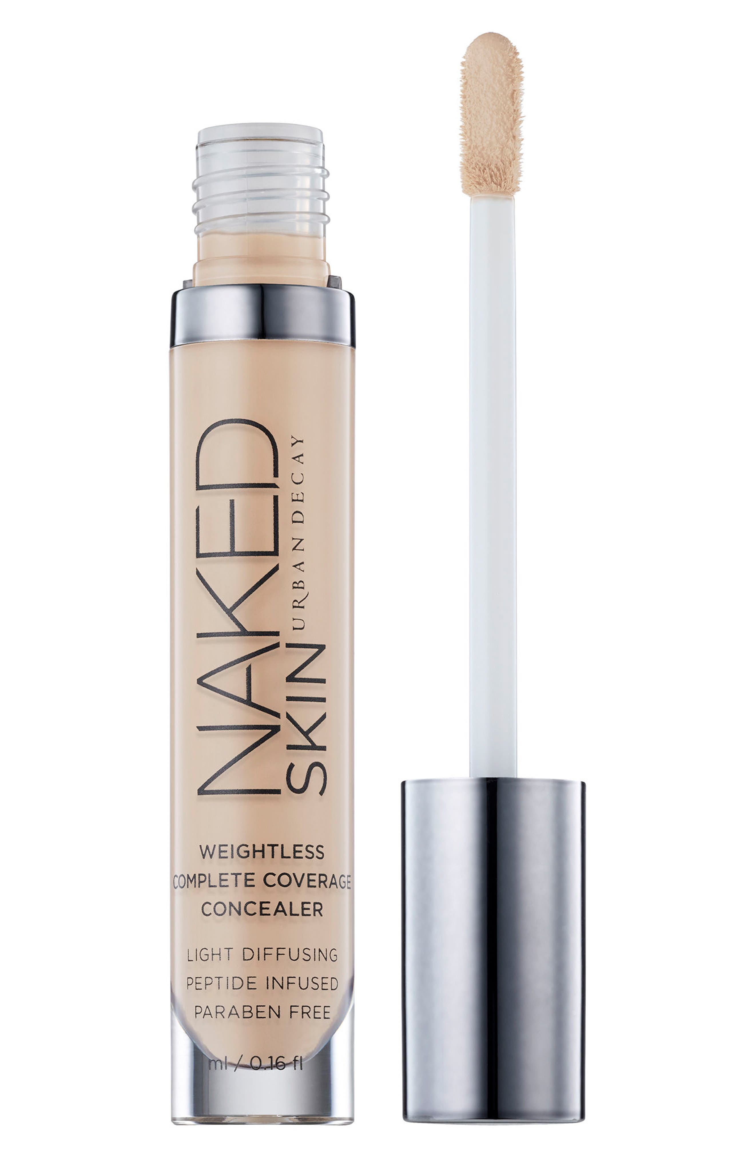 Naked Skin Weightless Complete Coverage Concealer,                         Main,                         color, Fair Warm