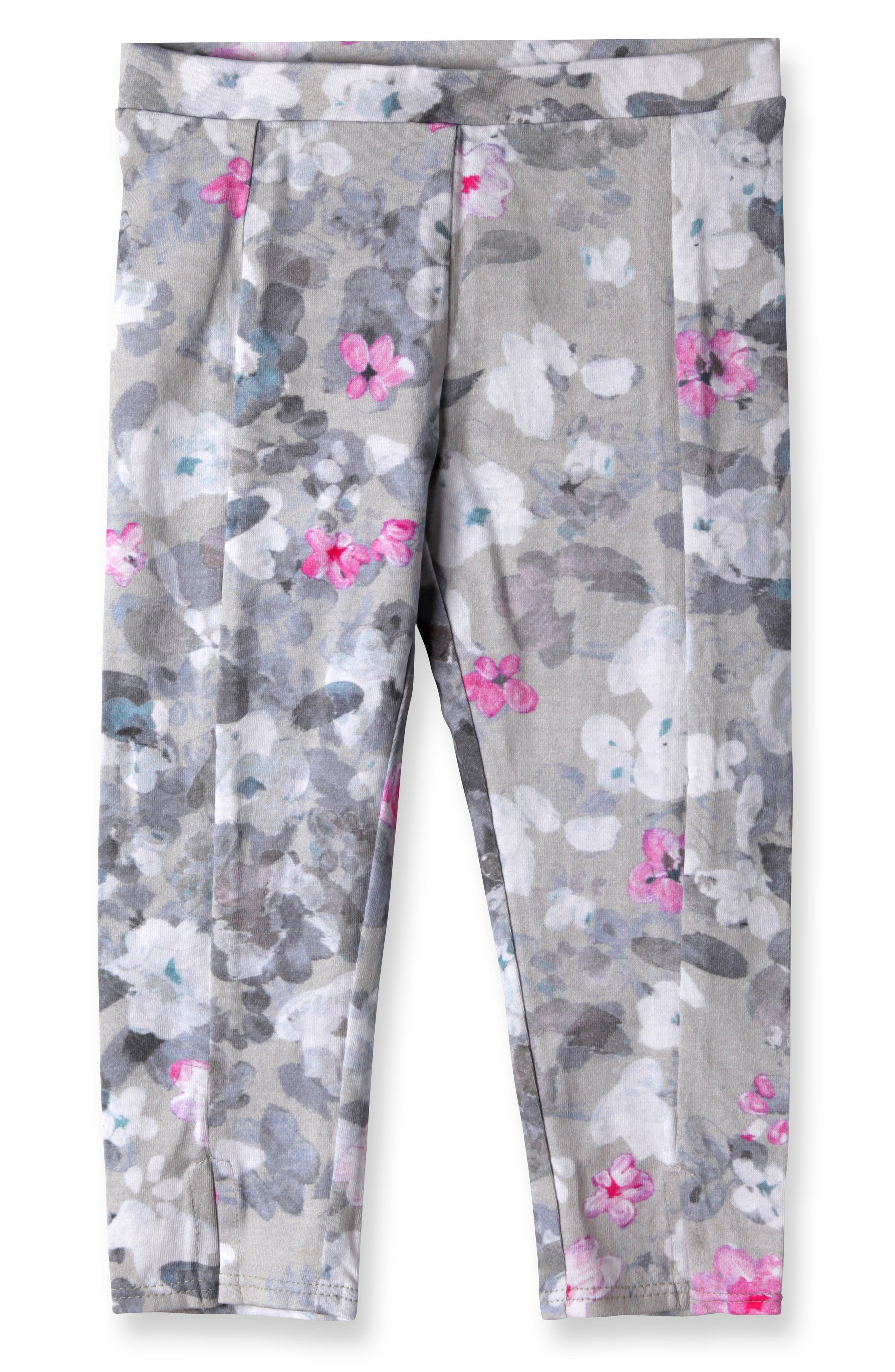 Alternate Image 1 Selected - Art & Eden Diane Leggings (Baby Girls)