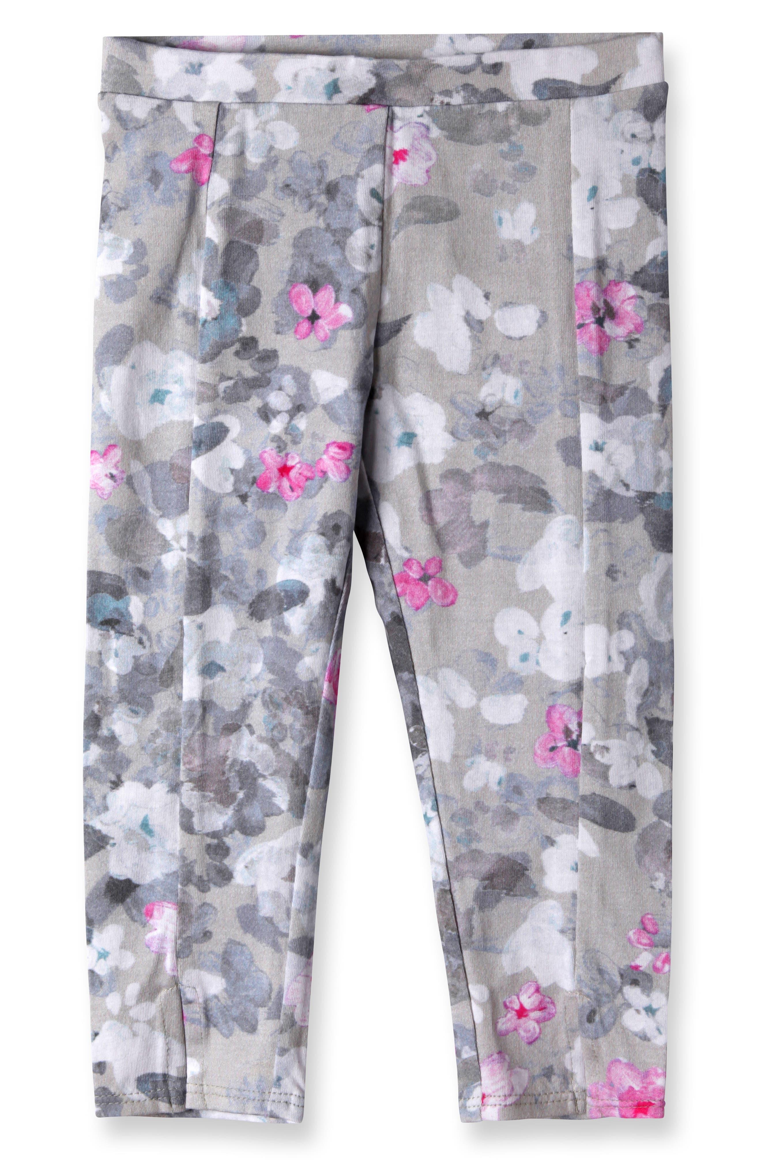 Diane Leggings,                         Main,                         color, Hidden Floral