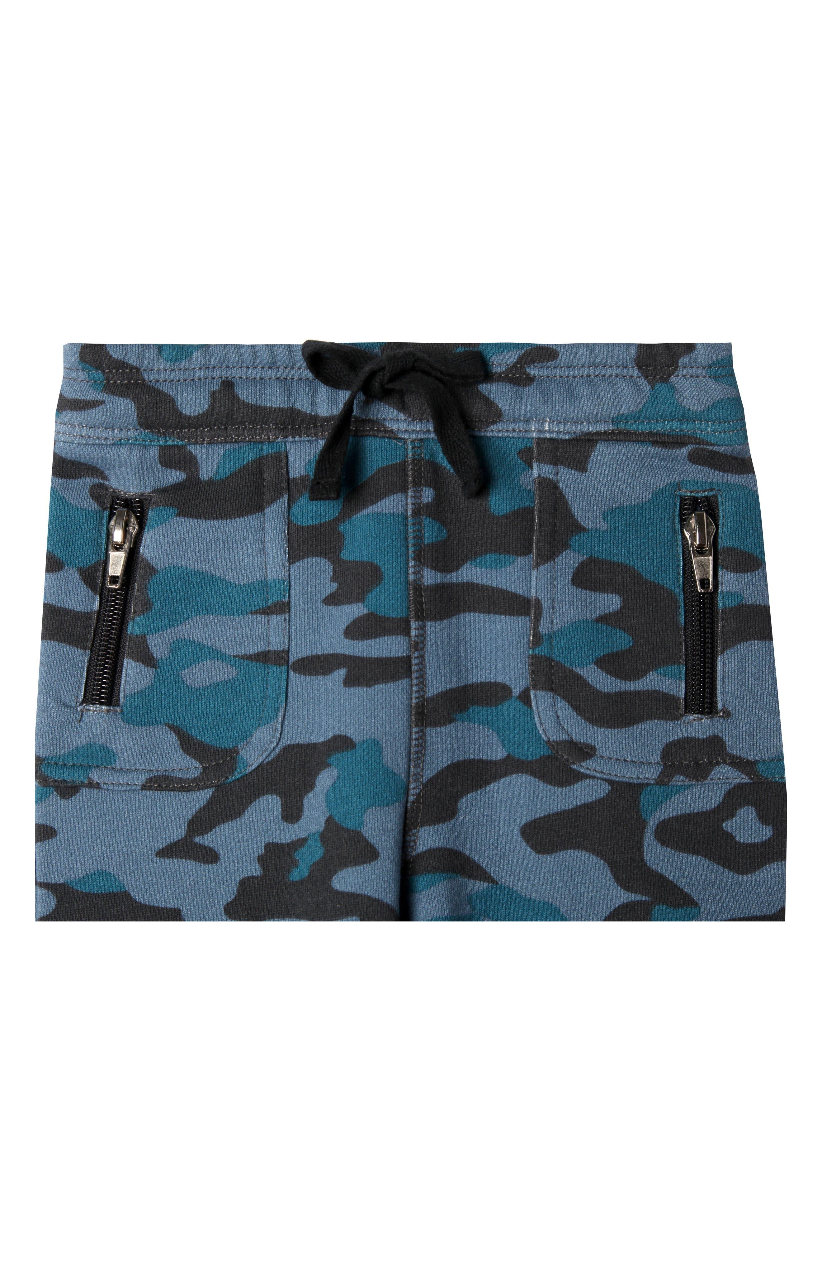 Grand Organic Cotton Jogger Pants,                             Alternate thumbnail 2, color,                             Navy Camo