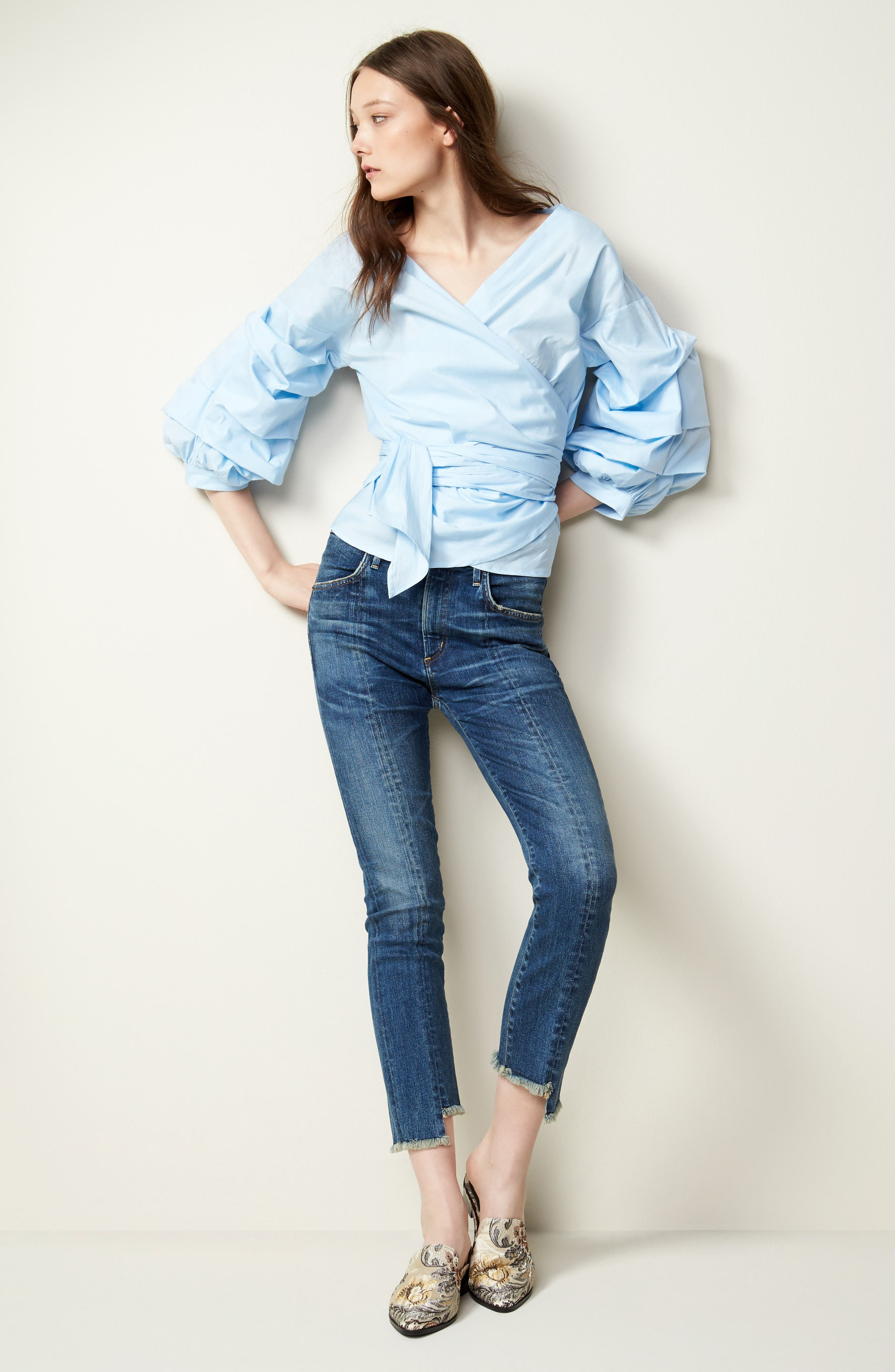 Alternate Image 2  - Citizens of Humanity Amari Step Hem Ankle Jeans (Alterra)