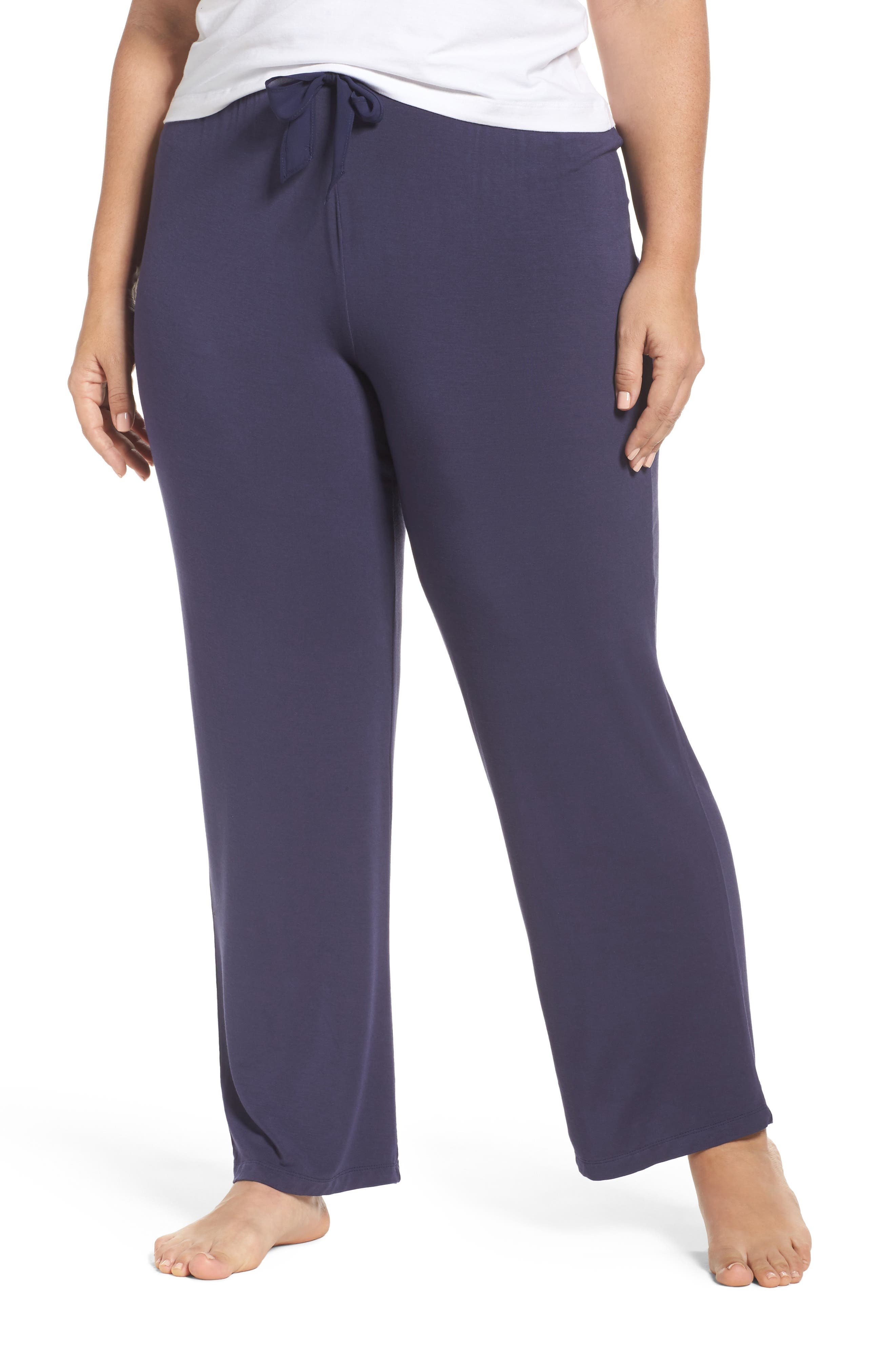 Stretch Modal Pants,                         Main,                         color, Ink