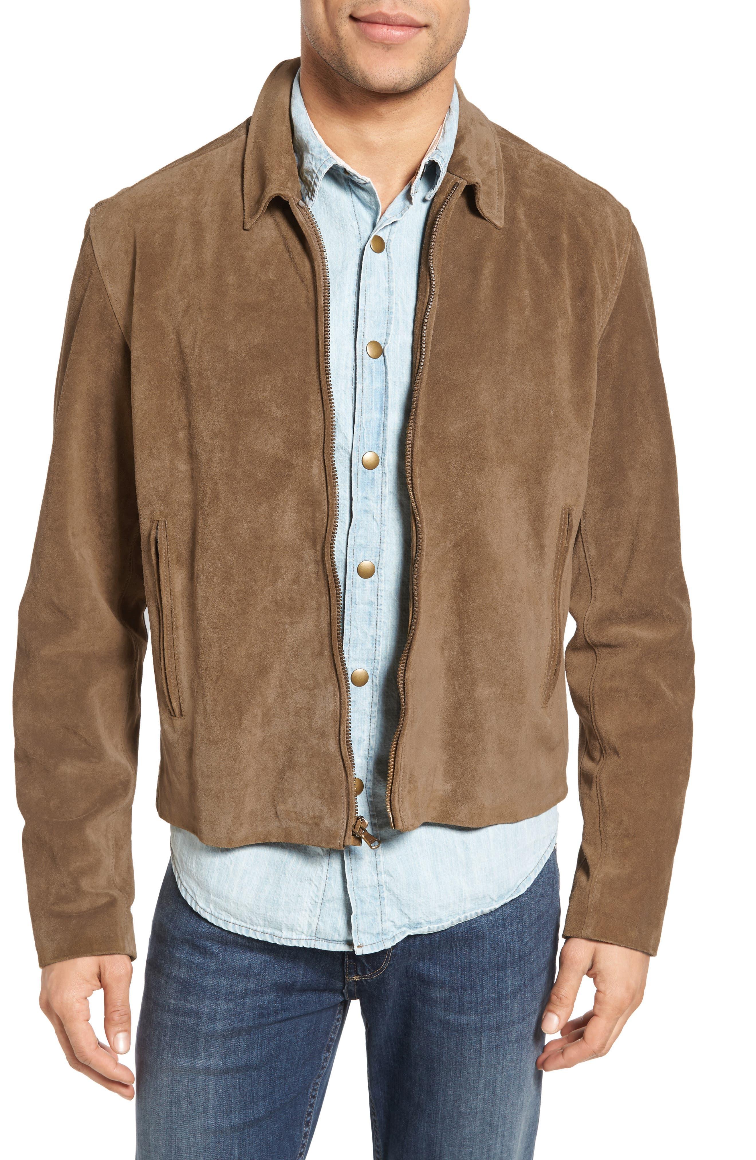 Billy Reid Luke Suede Jacket