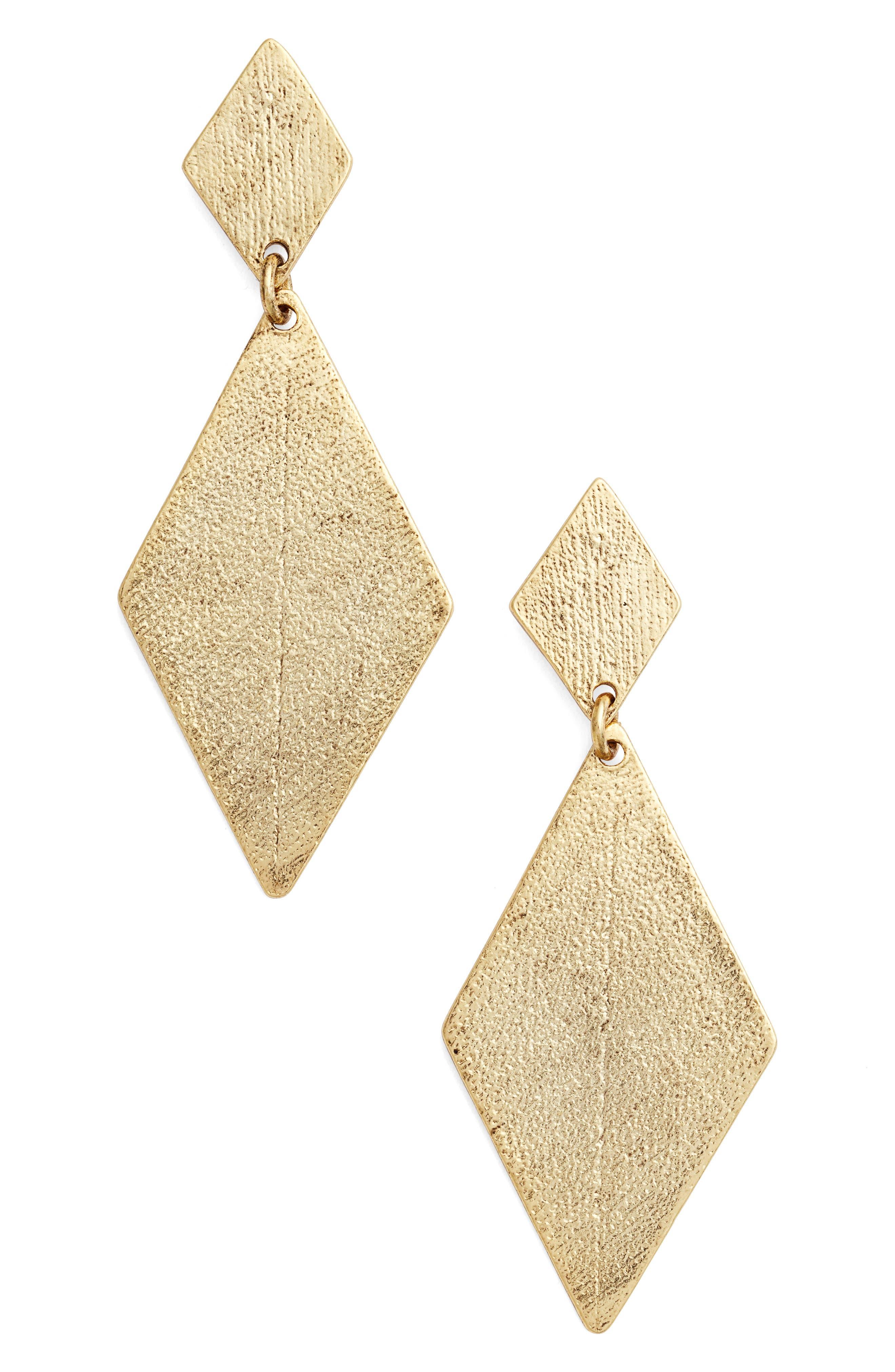 Karine Sultan Kite Earrings