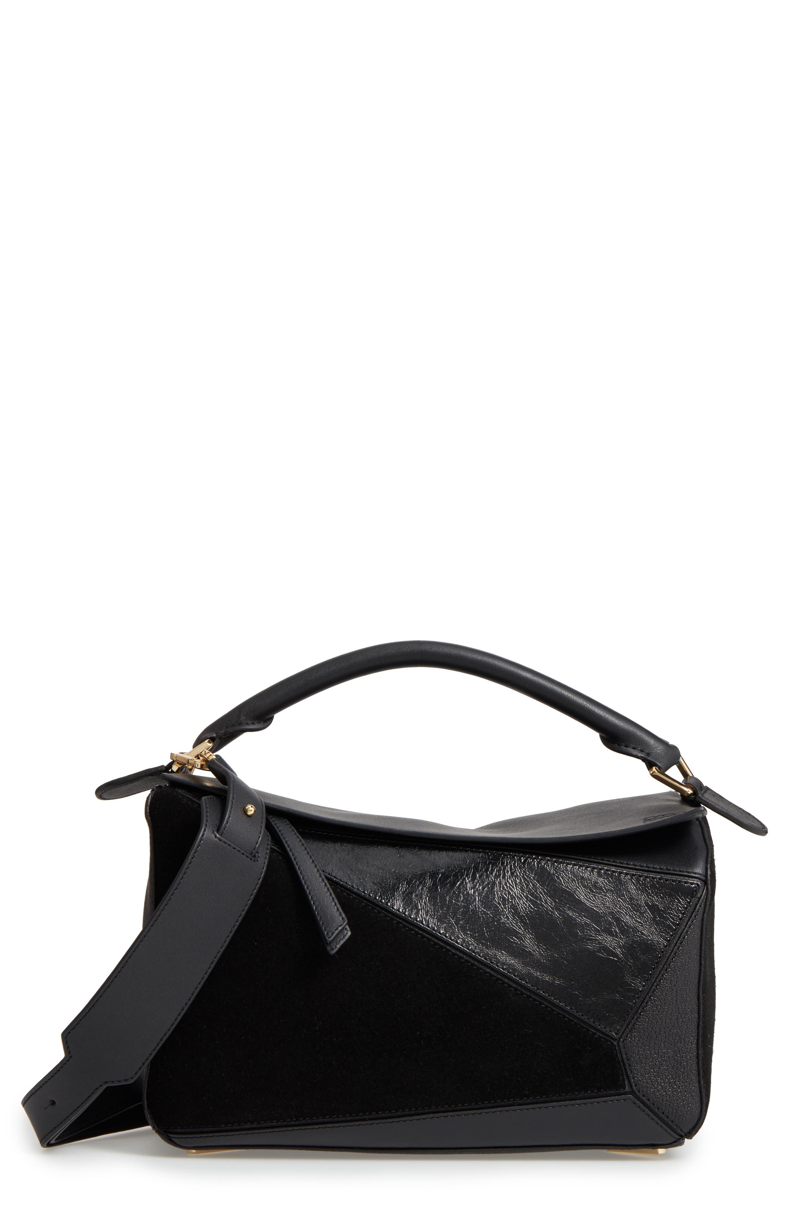 LOEWE Medium Puzzle Kangaroo Leather Bag