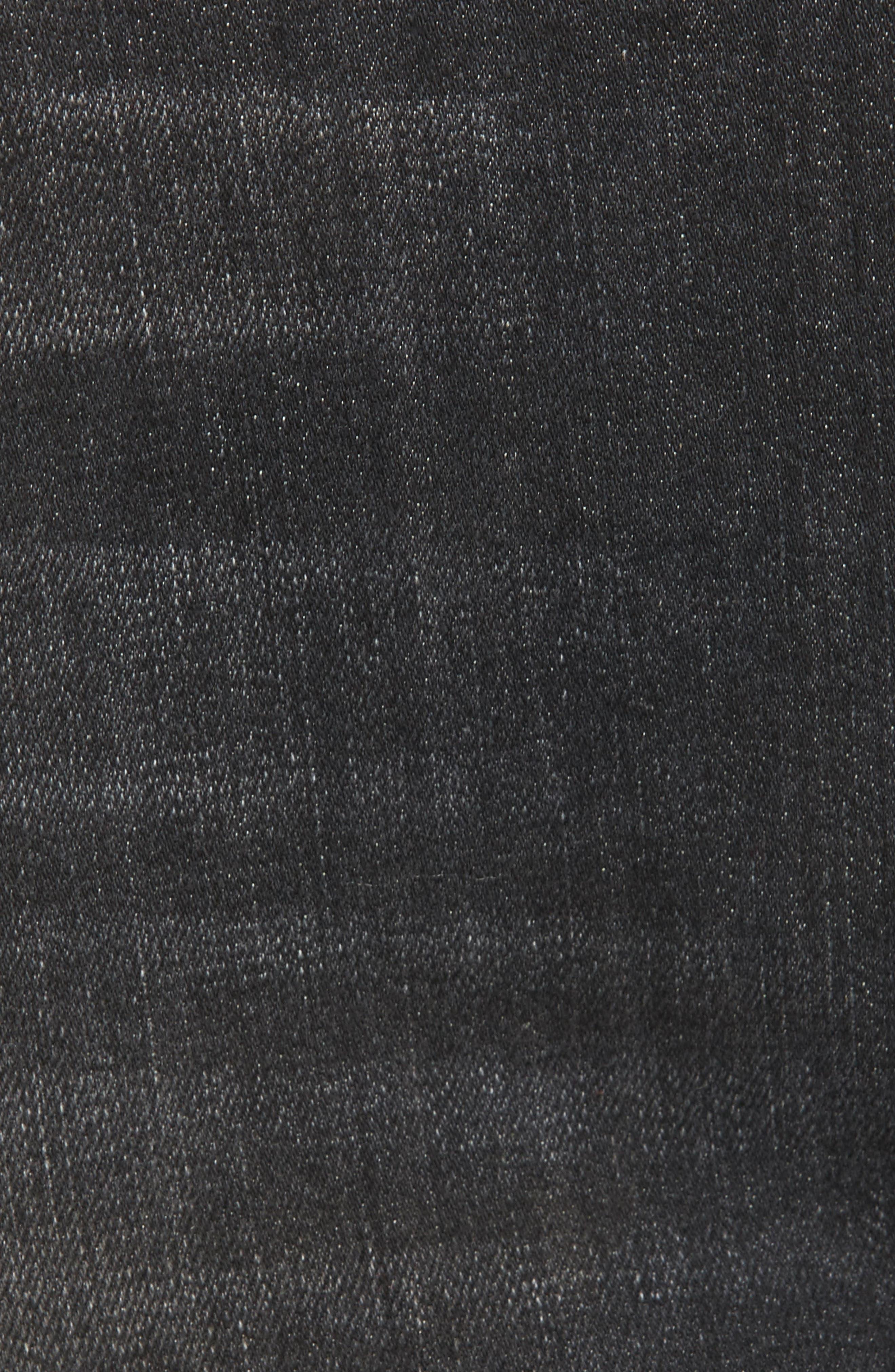 Hudson Vivid Cutoff Denim Miniskirt,                             Alternate thumbnail 5, color,                             Pretender
