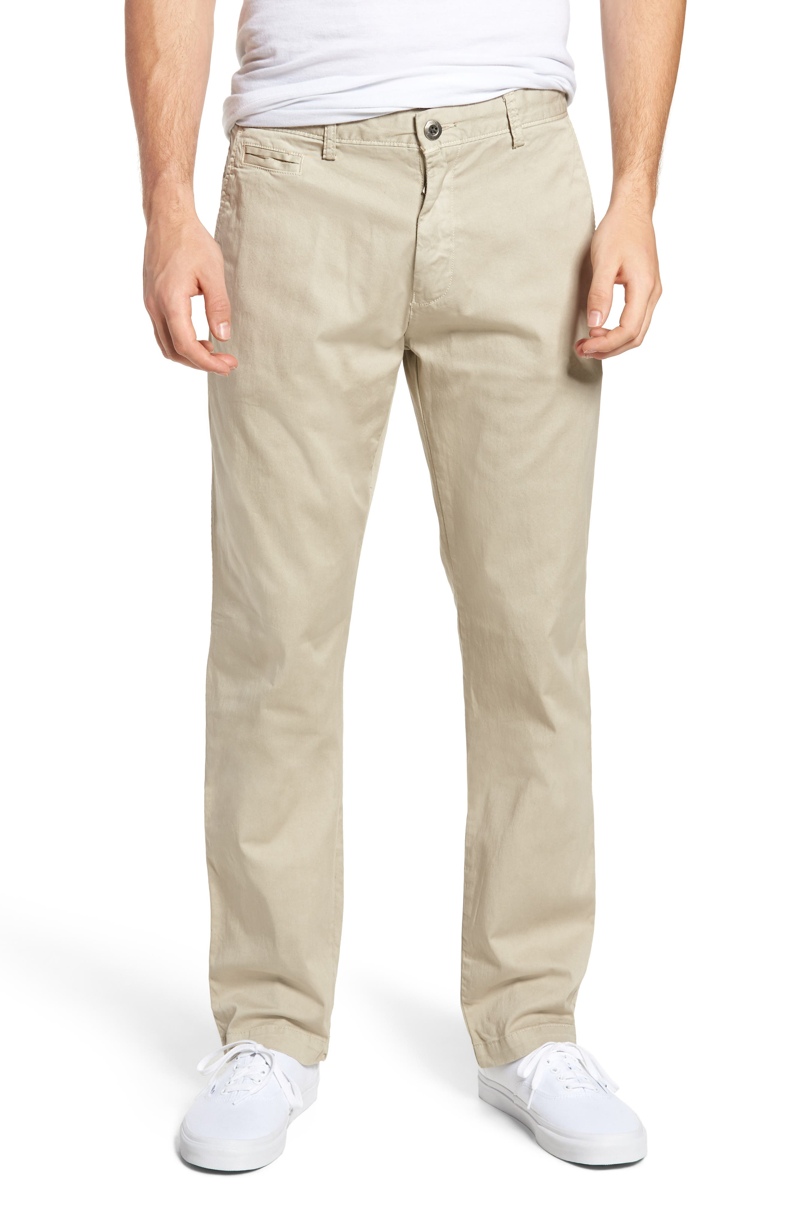 Main Image - Original Paperbacks Belmont Stretch Chino Pants