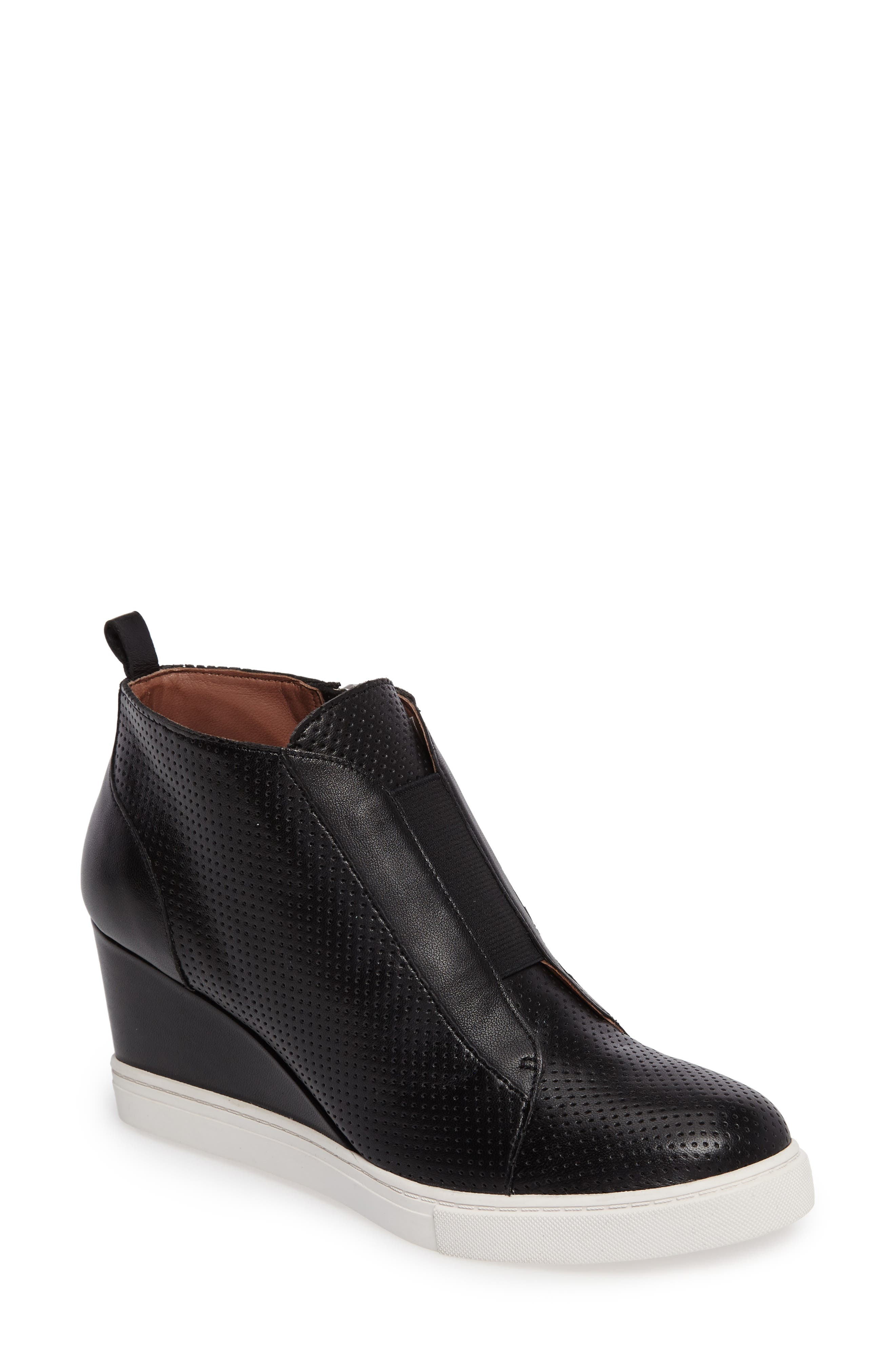 Main Image - Linea Paolo 'Felicia' Wedge Bootie (Women)