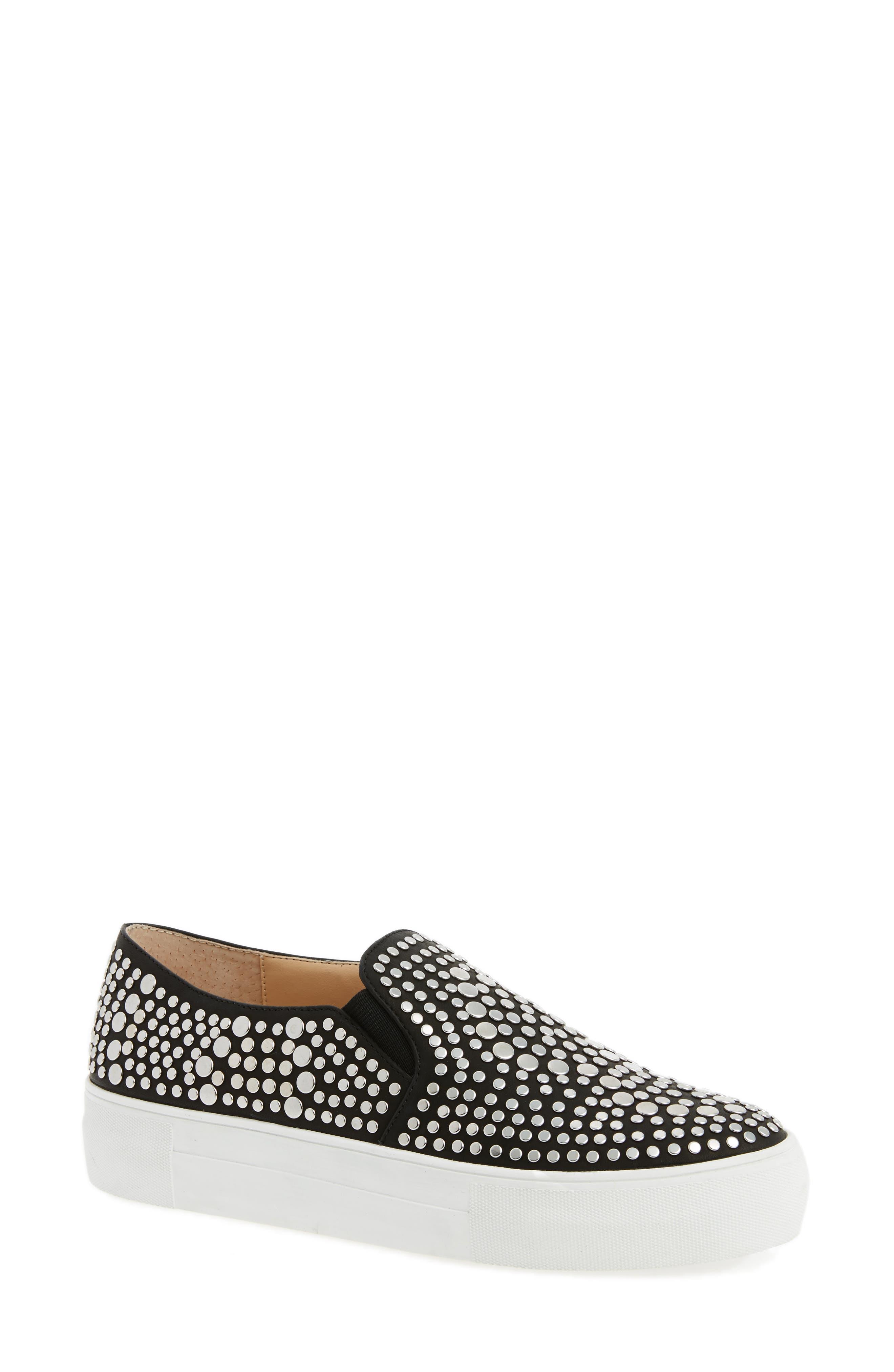 Main Image - Vince Camuto Kindra Studded Slip-On Sneaker (Women)