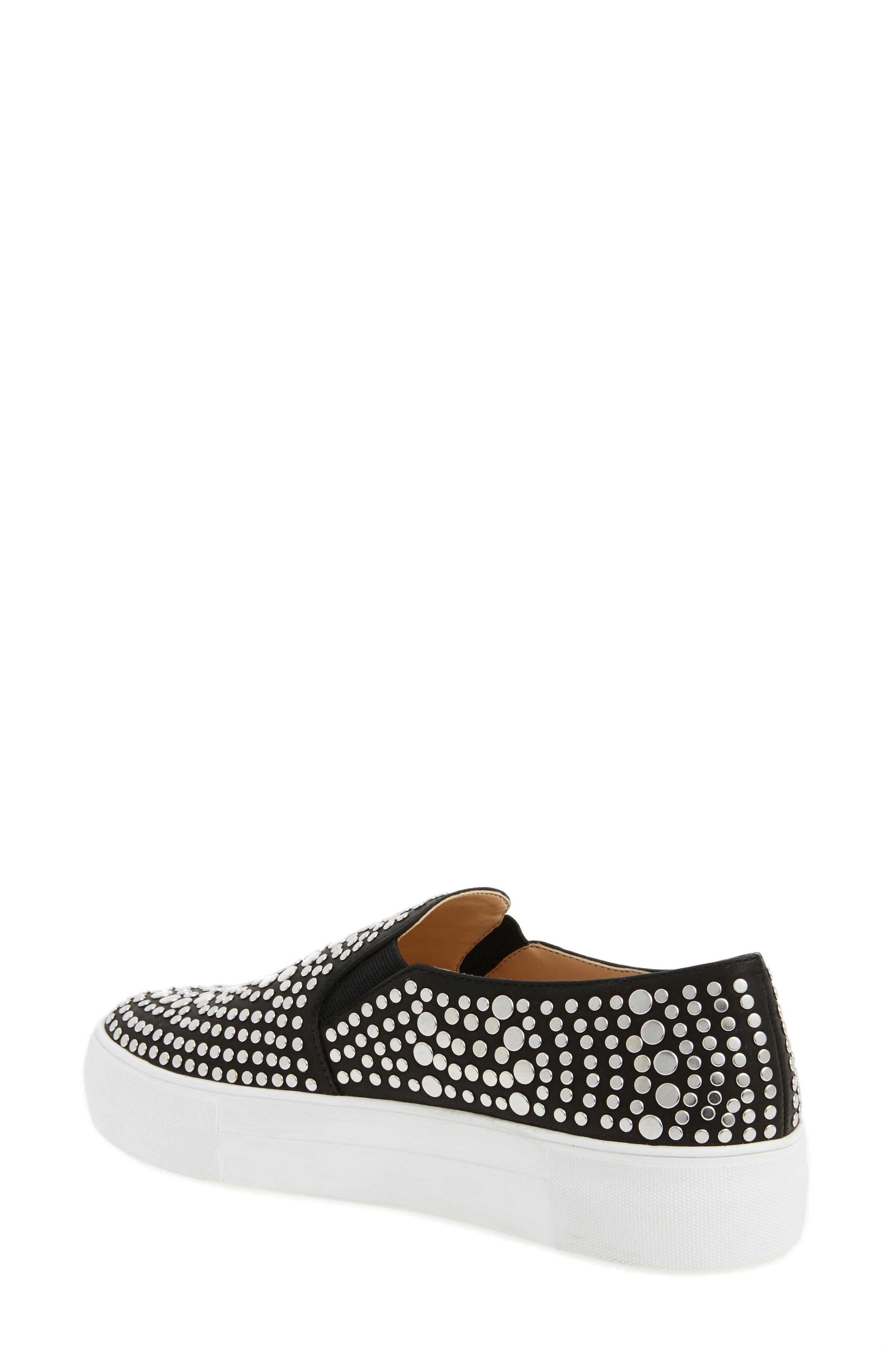 Alternate Image 2  - Vince Camuto Kindra Studded Slip-On Sneaker (Women)