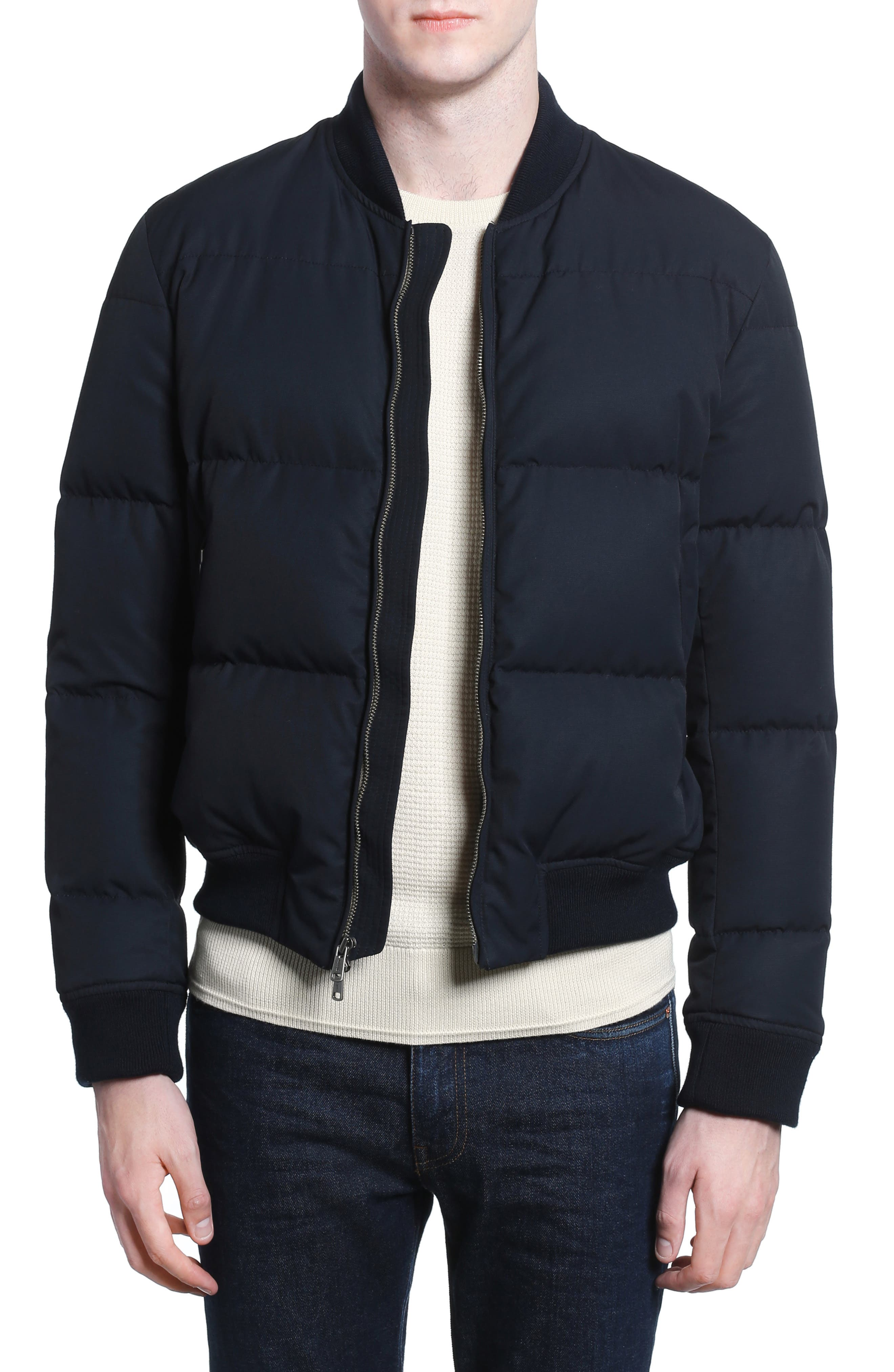 Alternate Image 1 Selected - Todd Snyder Down Bomber Jacket