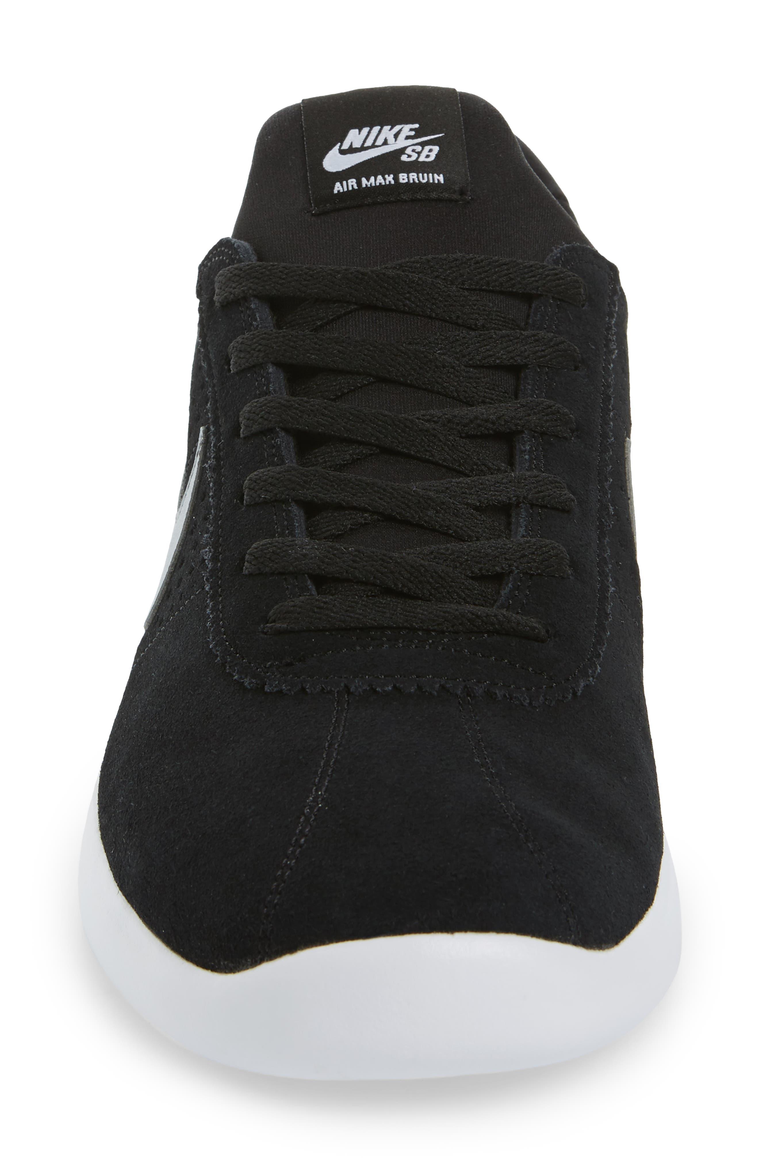 Alternate Image 4  - Nike SB Air Max Bruin Vapor Skateboarding Sneaker (Men)