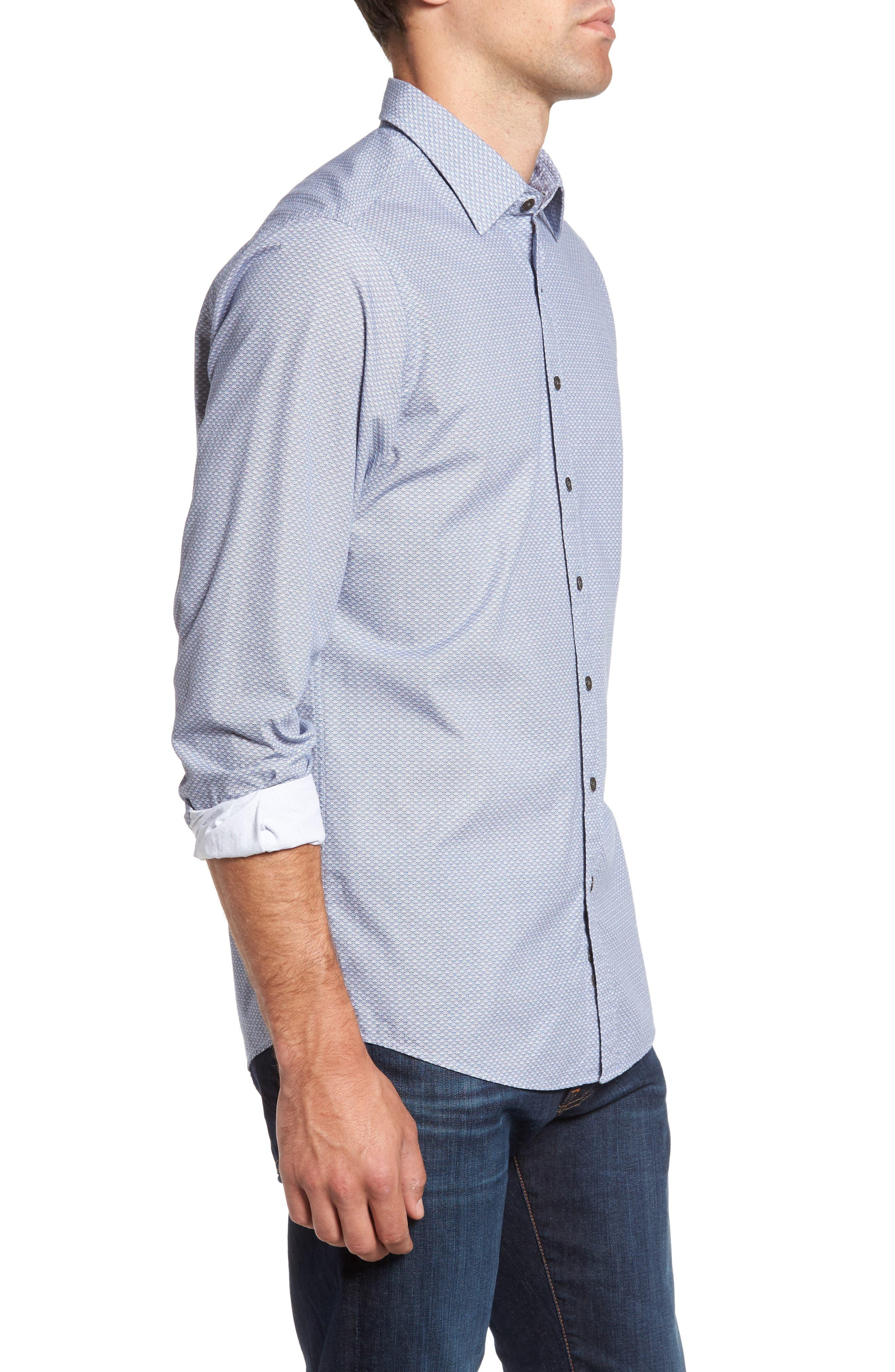 Alternate Image 3  - Rodd & Gunn Macauley Sports Fit Print Sport Shirt