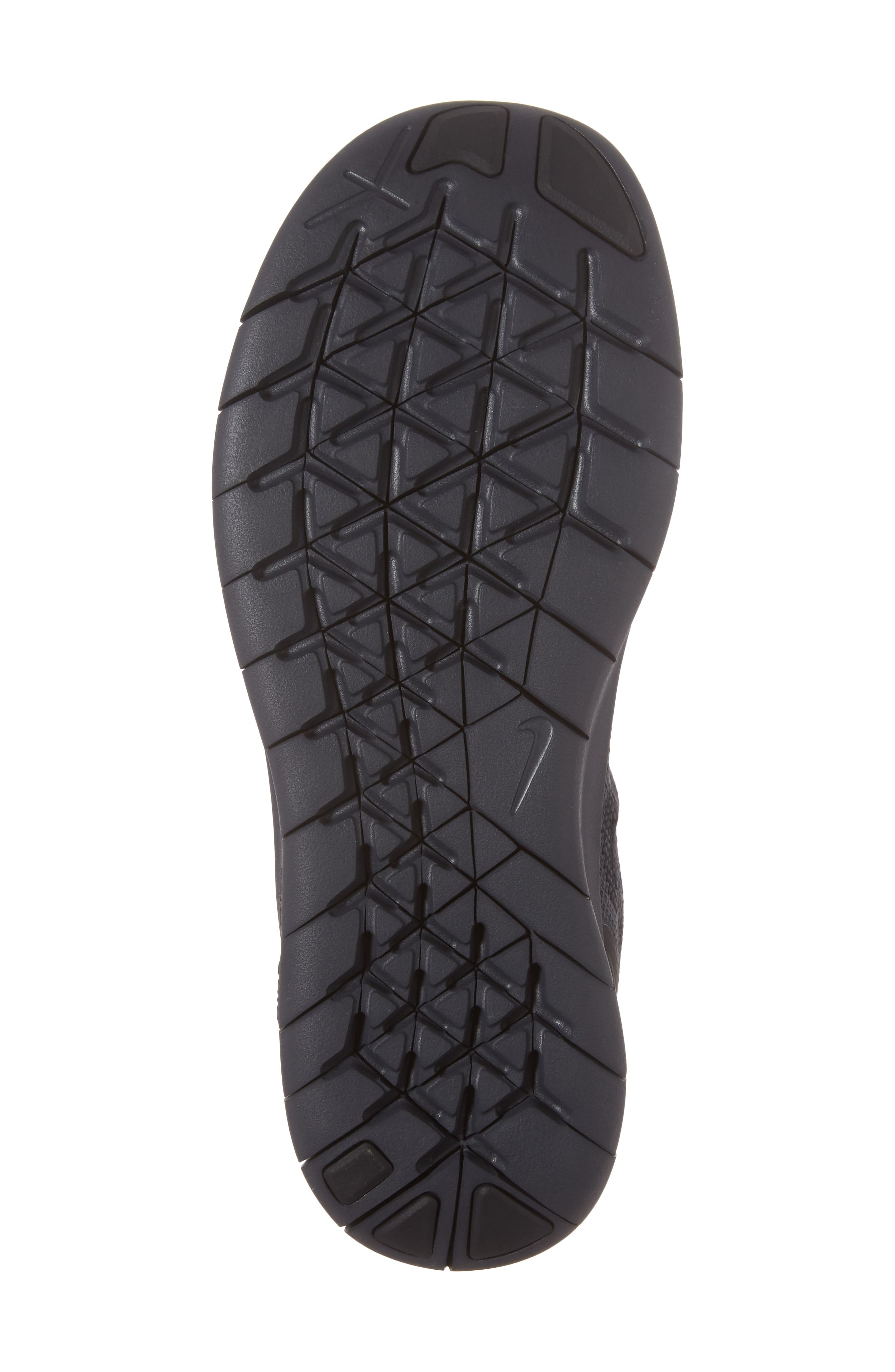 Free RN Running Shoe,                             Alternate thumbnail 6, color,                             Black/ Anthracite/ Dark Grey