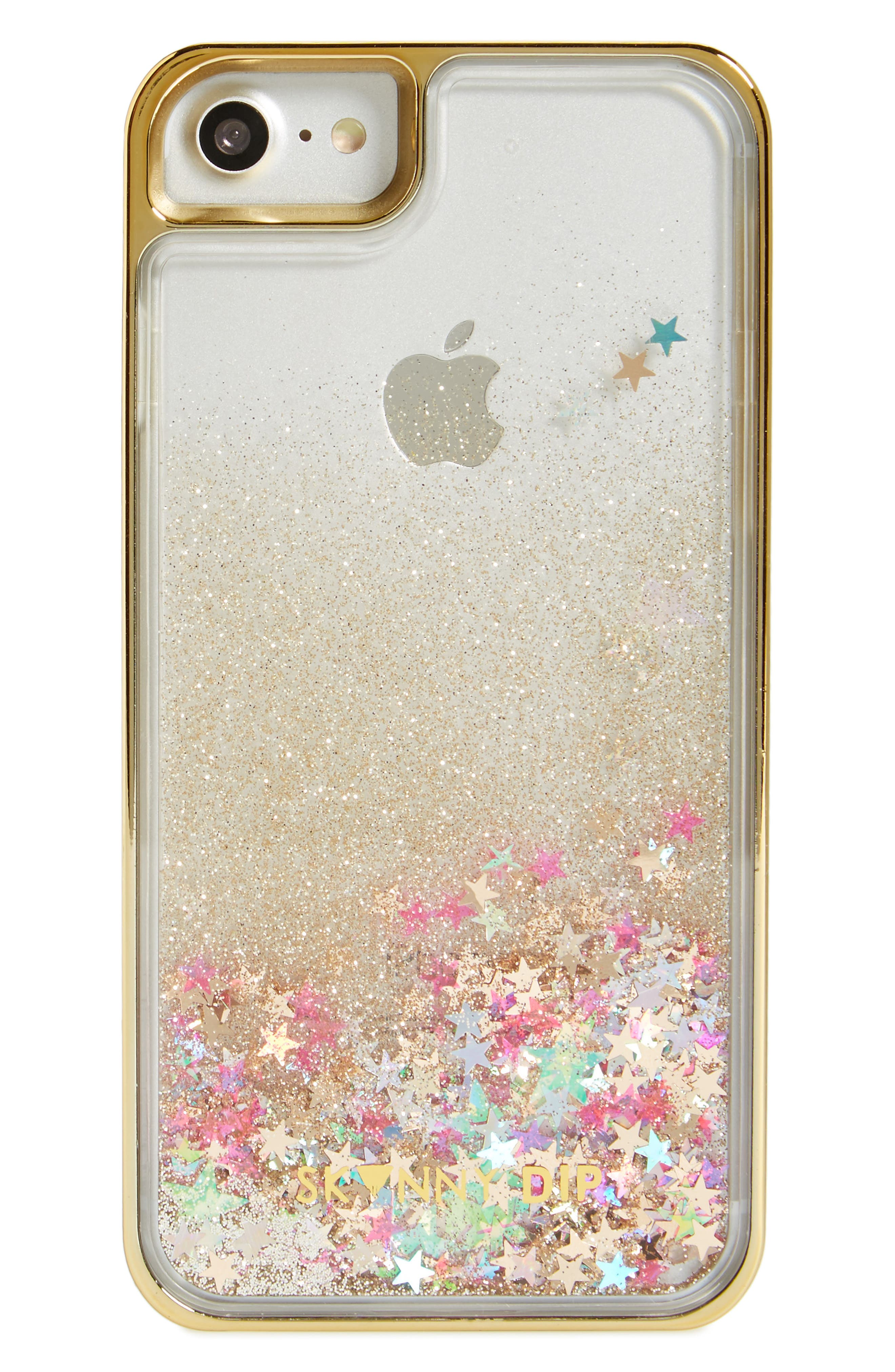 Glory iPhone 6/7 & 6/7 Plus Case,                         Main,                         color, Gold