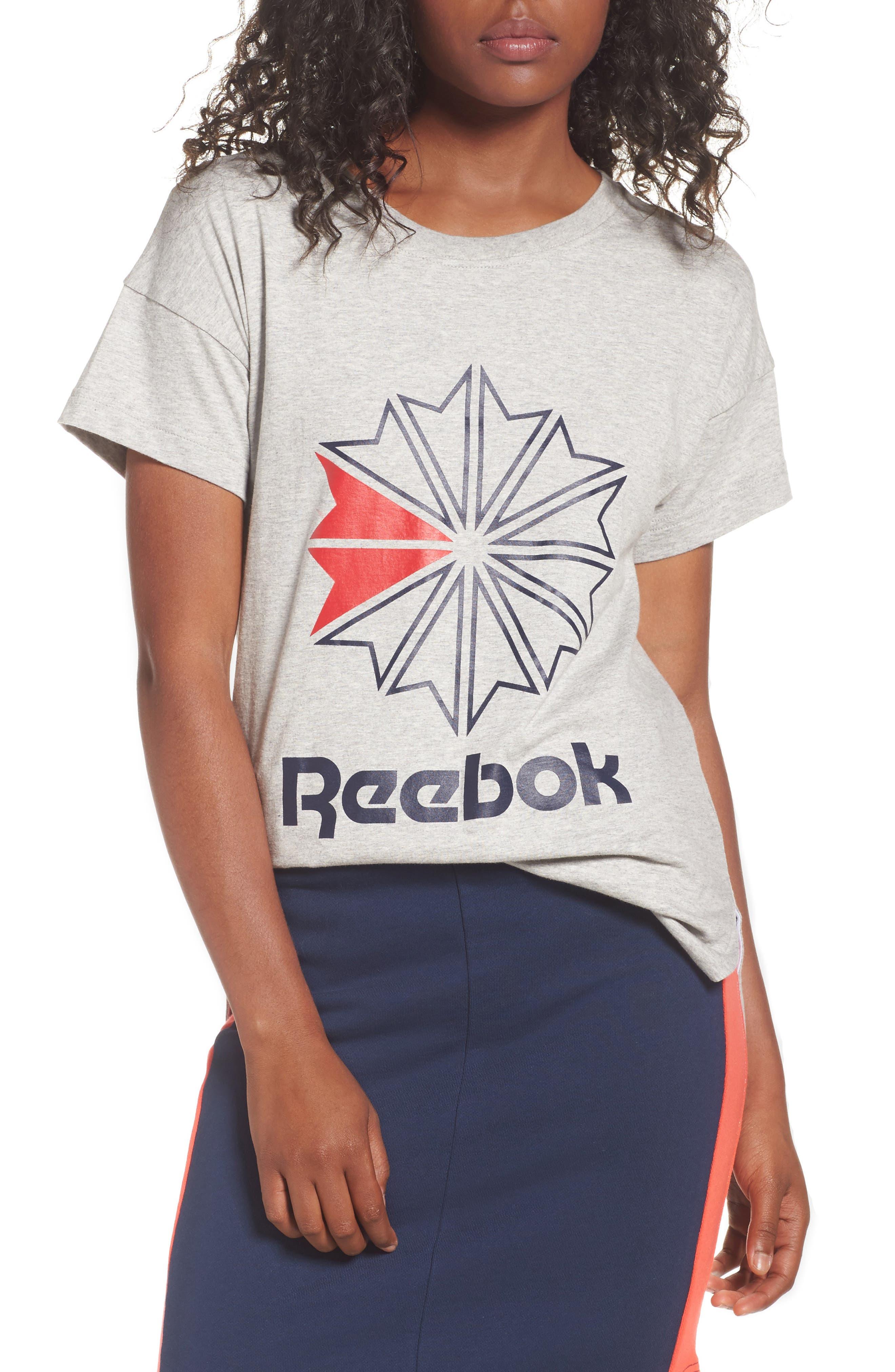 Main Image - Reebok Graphic Logo Tee