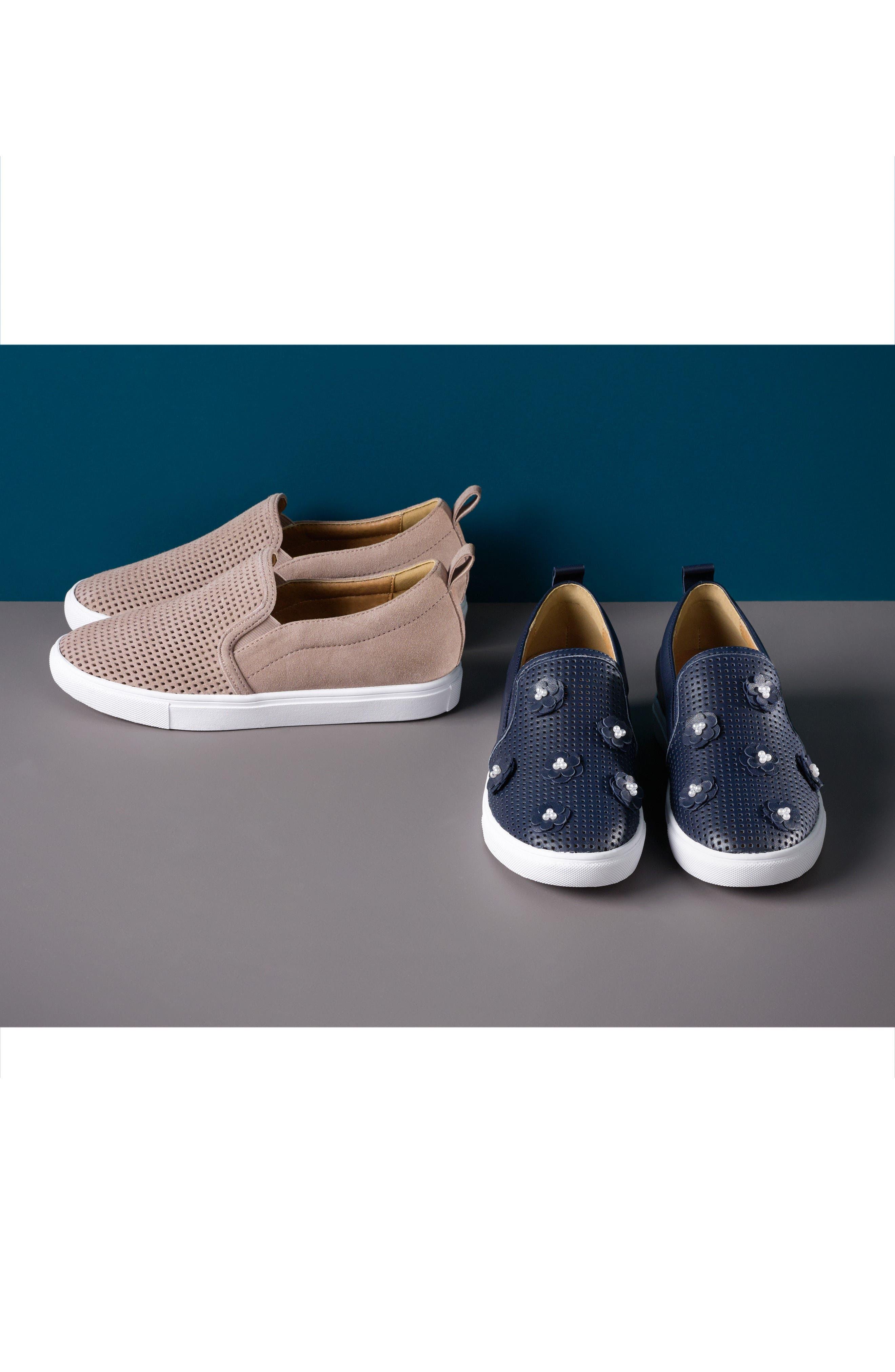 Alternate Image 7  - Caslon® Eden Perforated Slip-On Sneaker (Women)