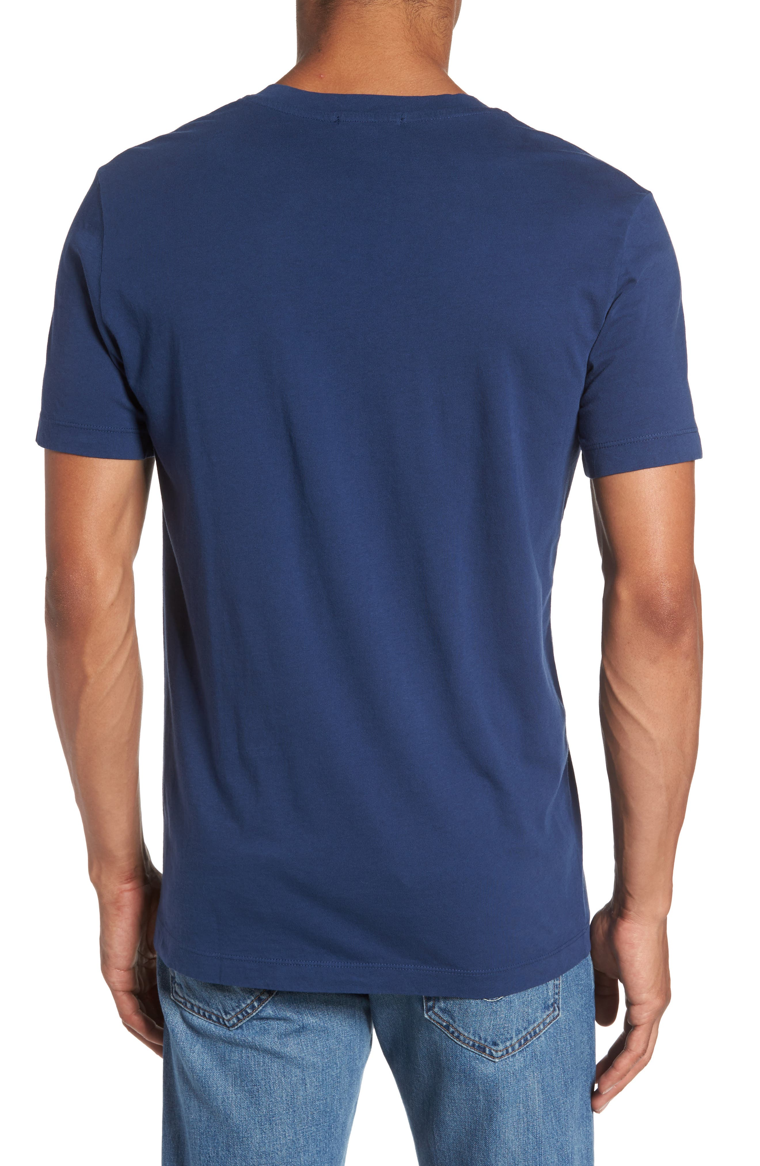 Alternate Image 2  - James Perse Short Sleeve V-Neck T-Shirt