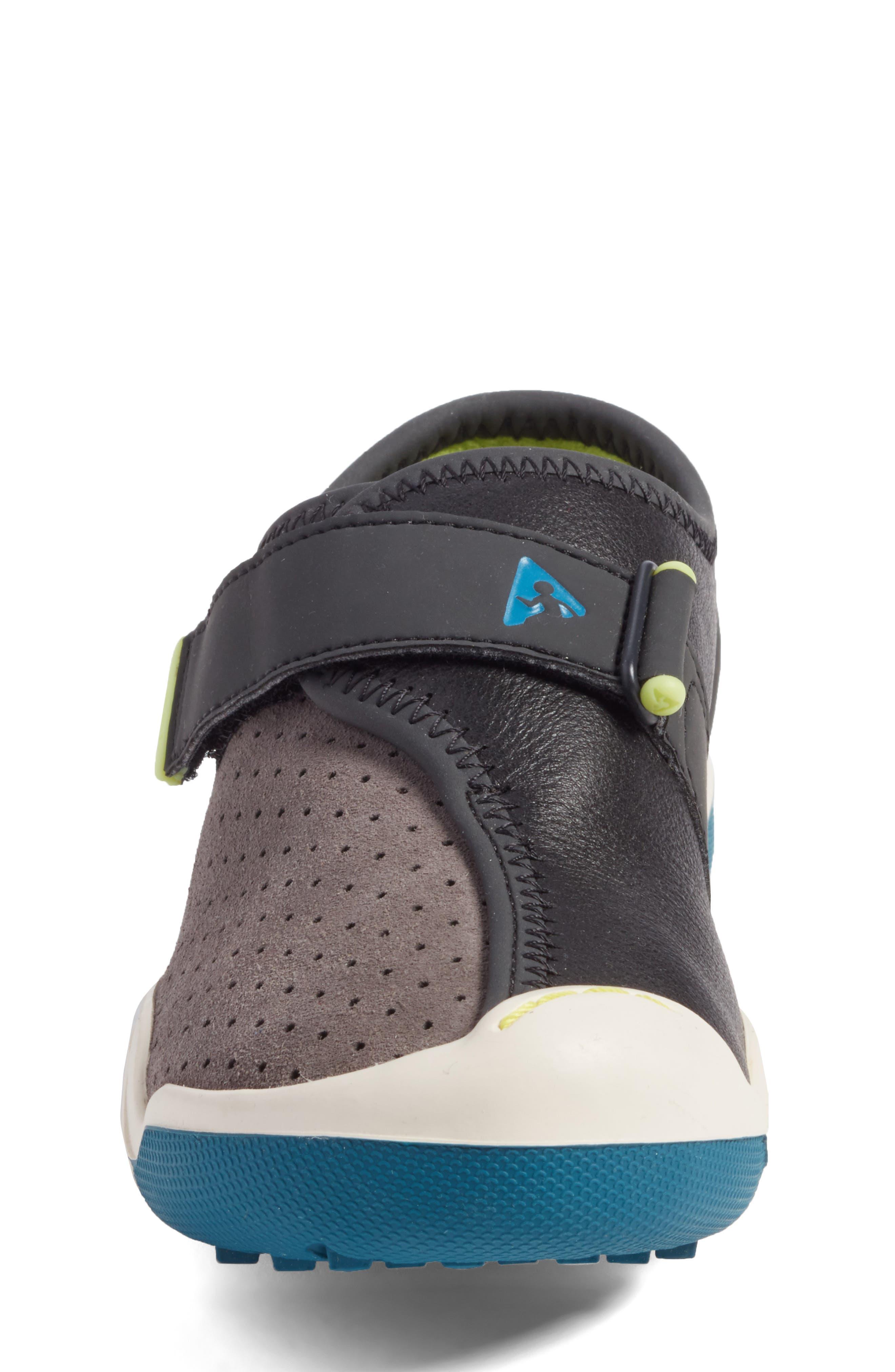 Cam Perforated Sneaker,                             Alternate thumbnail 4, color,                             Lunar Grey