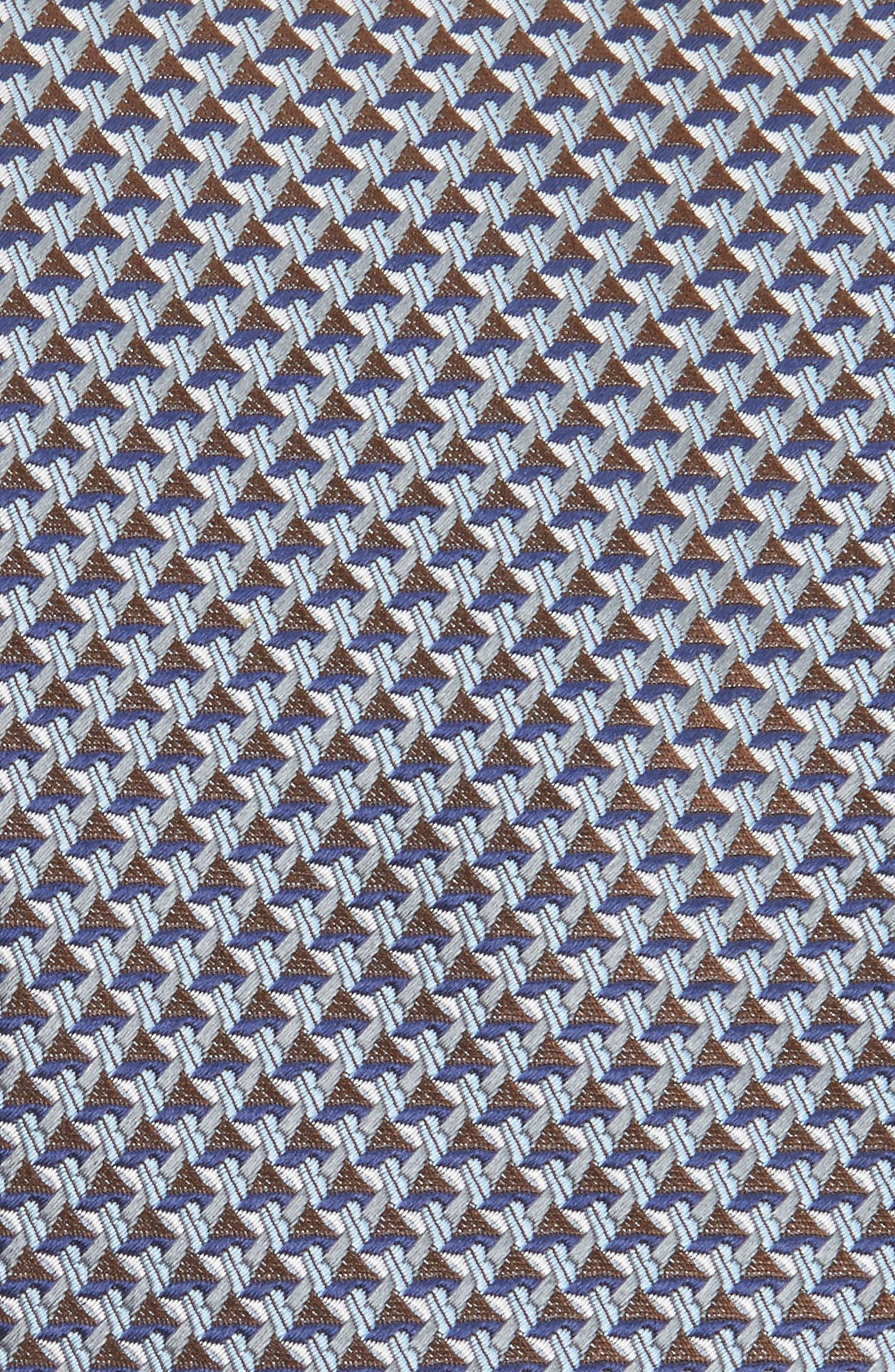Alternate Image 2  - Brioni Geometric Silk Tie