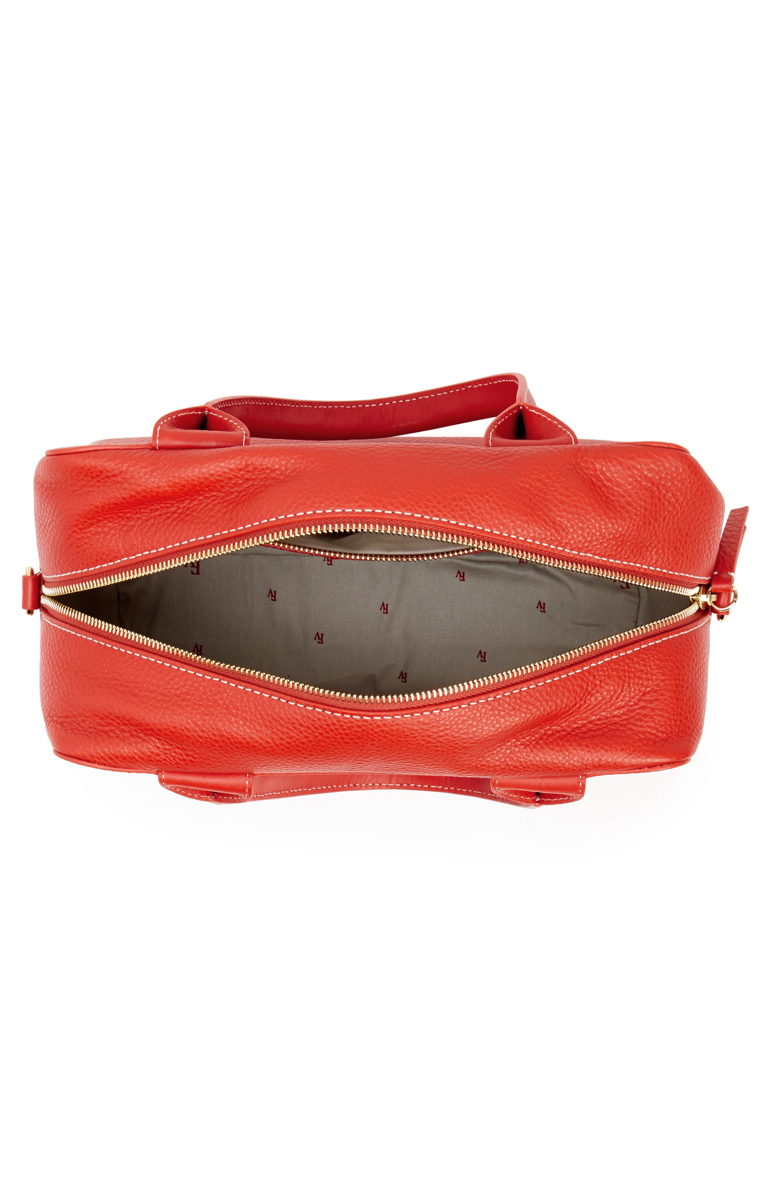 Medium Maddy Satchel,                             Alternate thumbnail 4, color,                             Coral