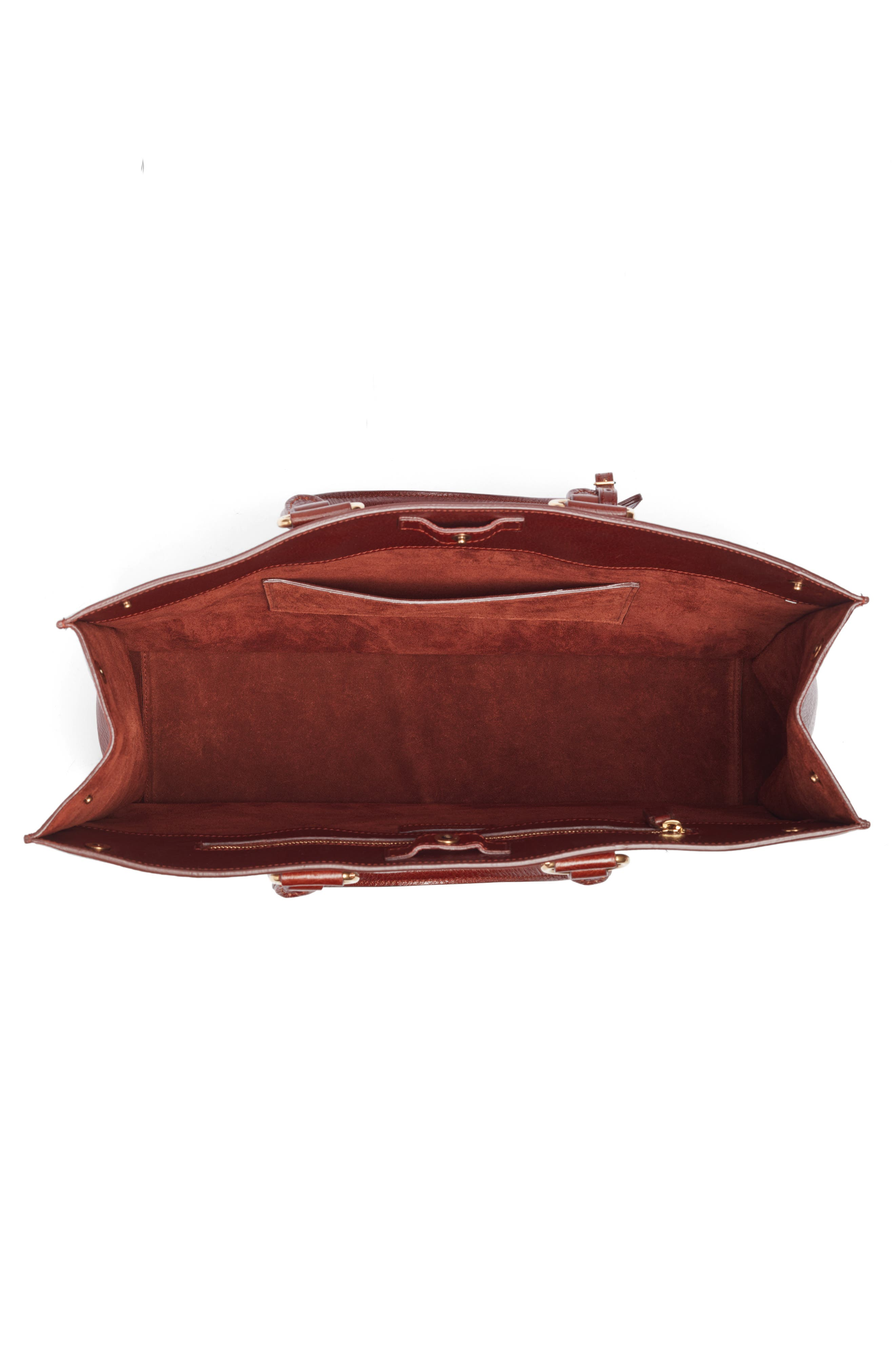 Alternate Image 4  - Saint Laurent Noe Glacé Moroder Leather Tote