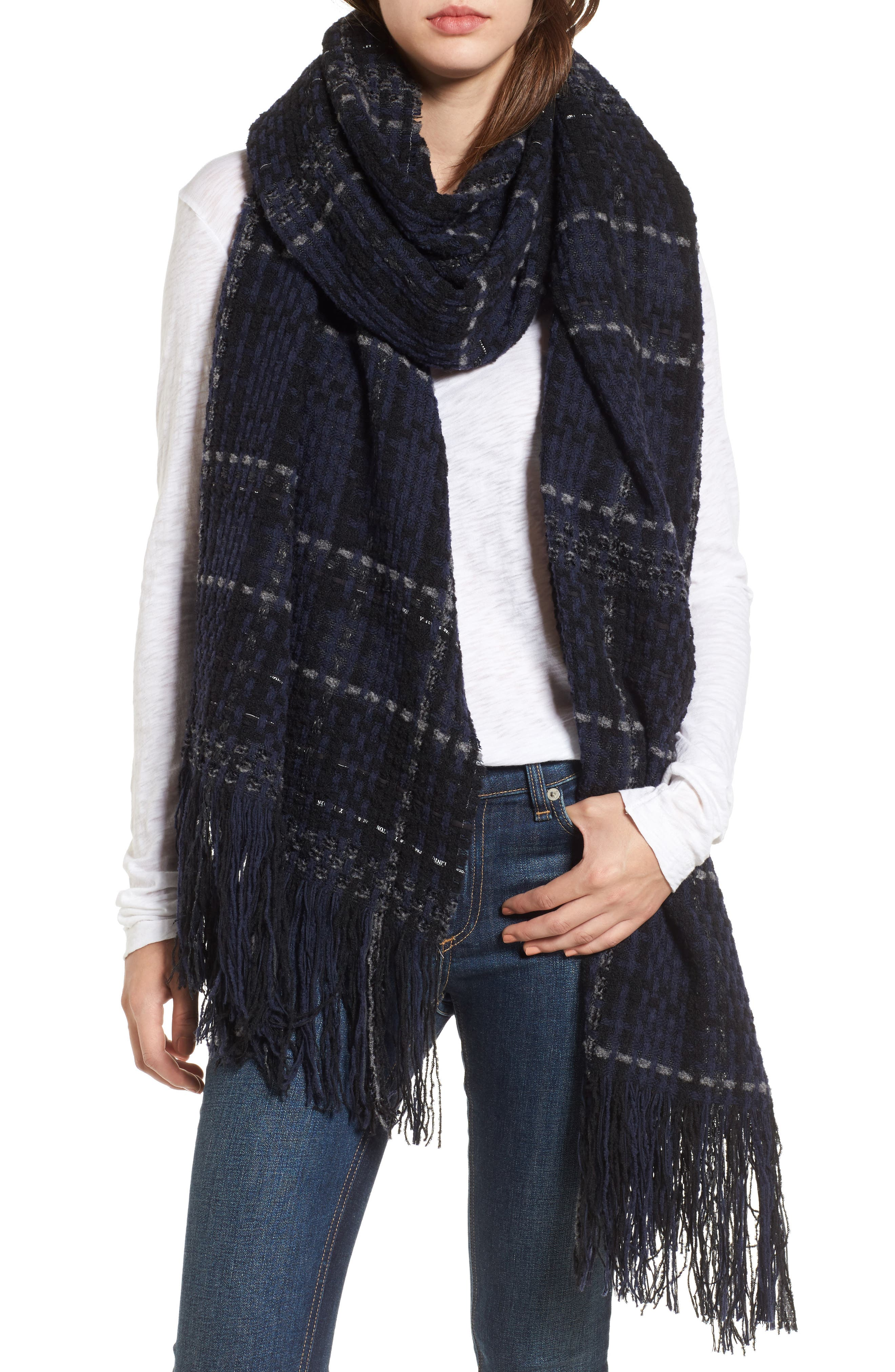 Alternate Image 3  - rag & bone Linton Tweed Scarf