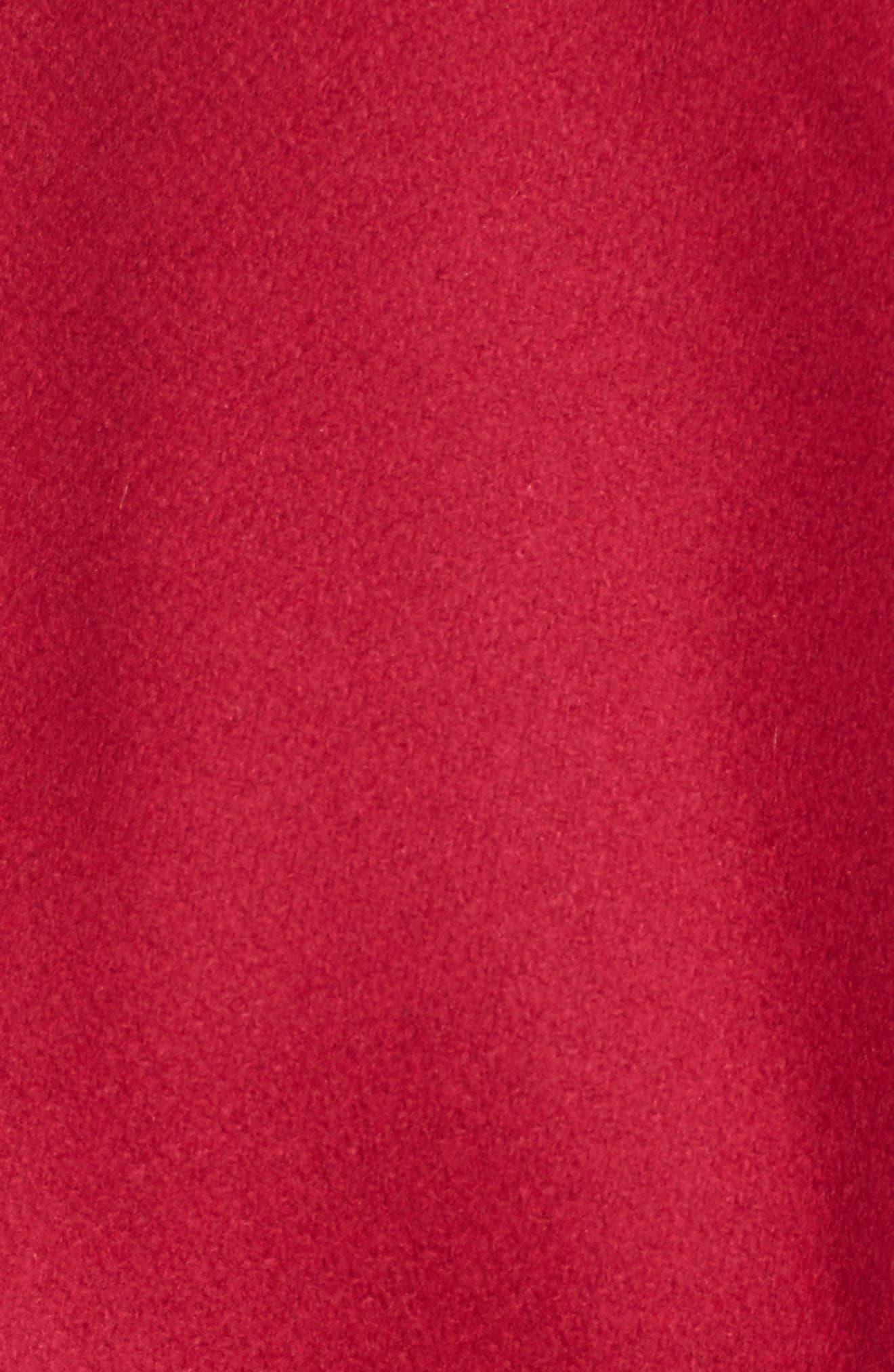 Alternate Image 5  - Ted Baker London Wool Blend Short Wrap Coat