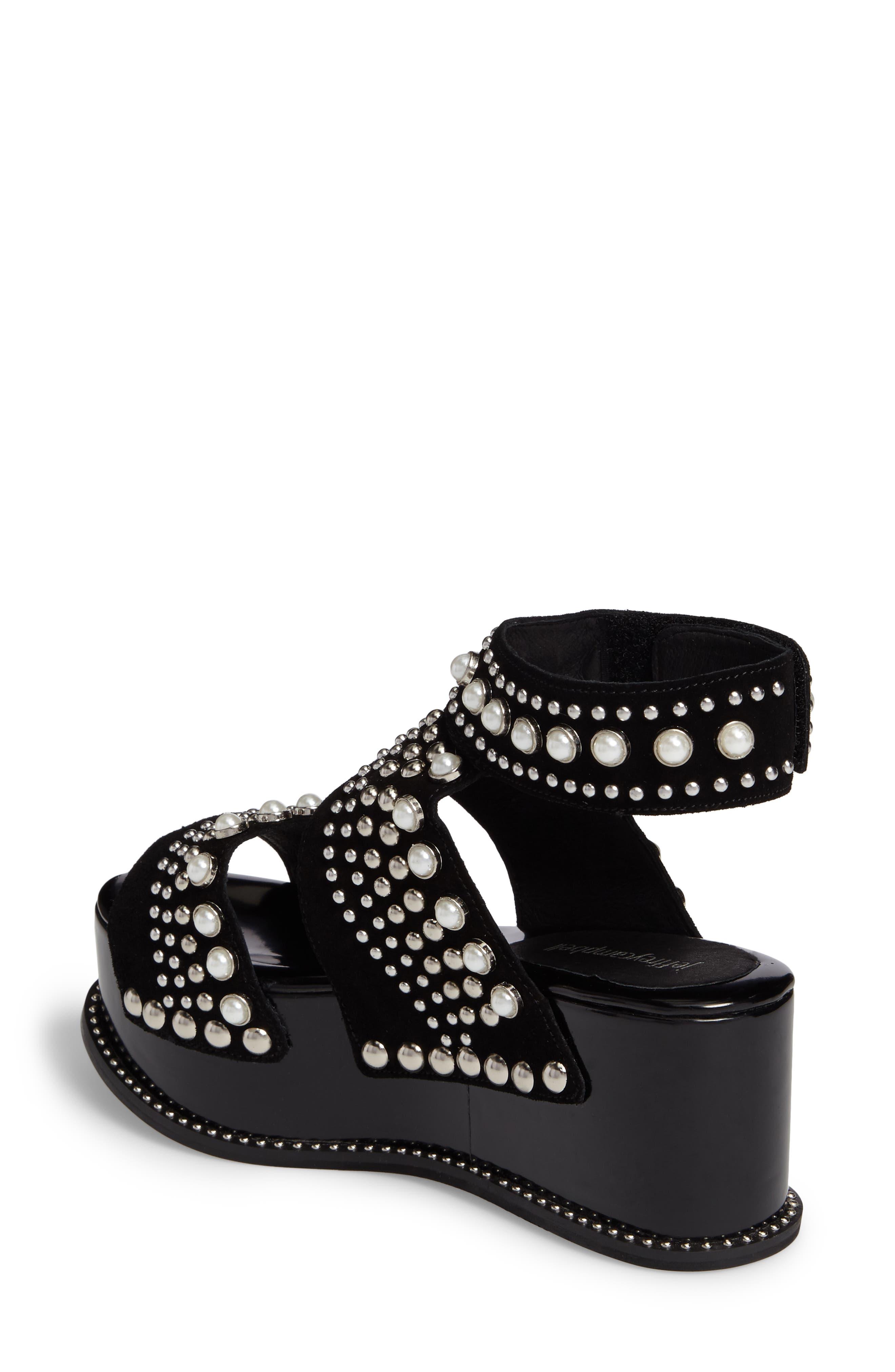 Alternate Image 2  - Jeffrey Campbell Palmira Embellished Platform Sandal (Women)