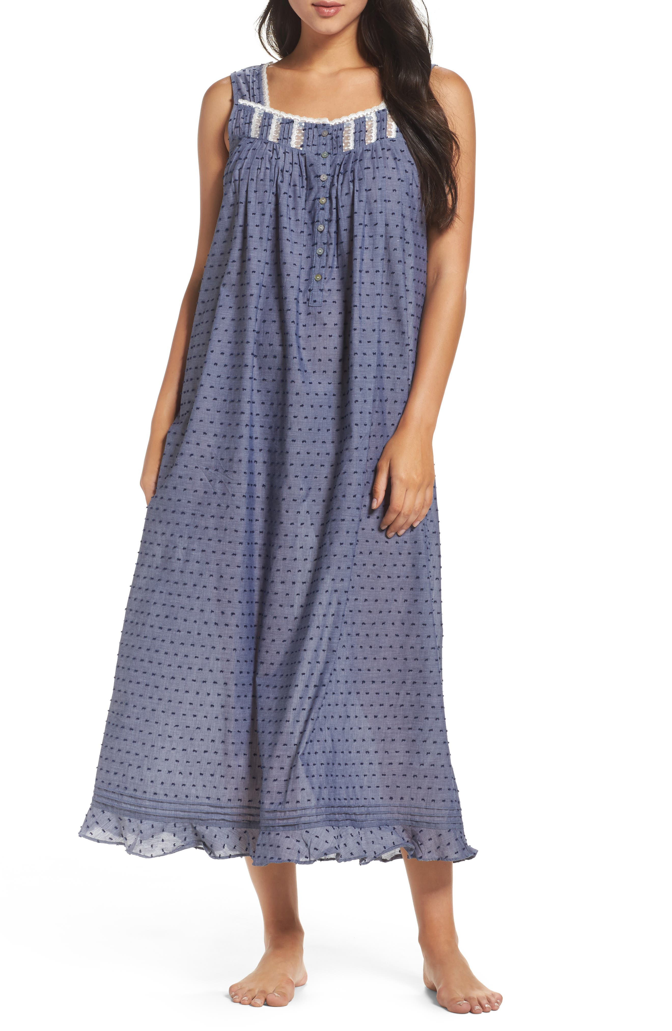 Ballet Nightgown,                         Main,                         color, Blue