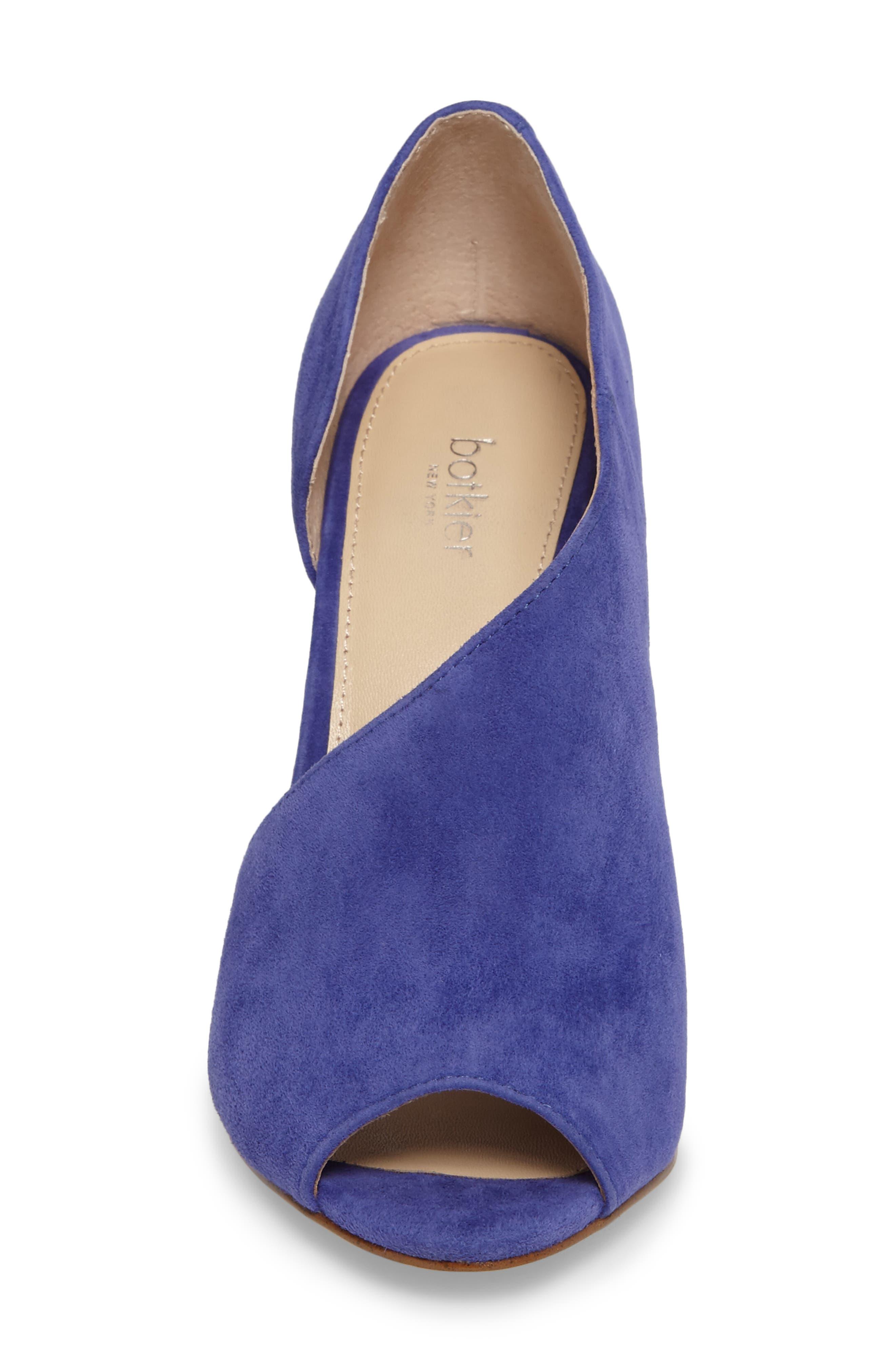 Adelia Asymmetrical Sandal,                             Alternate thumbnail 4, color,                             Blue