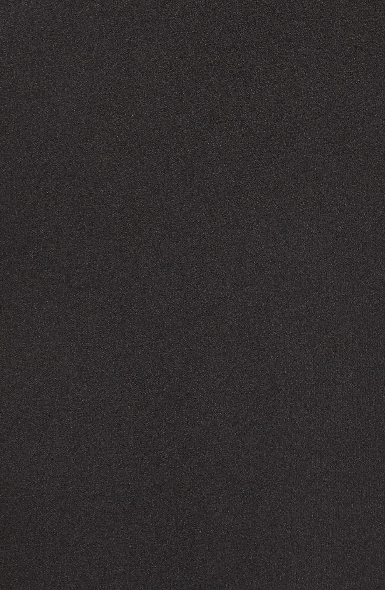 Femme Fatale Slip Dress,                             Alternate thumbnail 6, color,                             Black