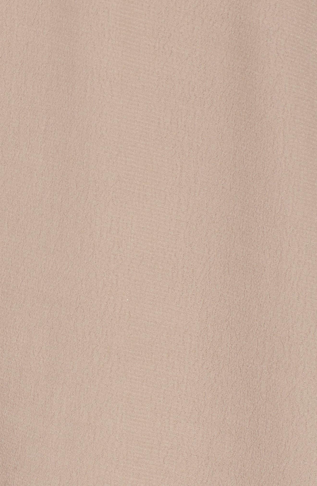 Fern Fit & Flare Dress,                             Alternate thumbnail 5, color,                             Faded Mauve