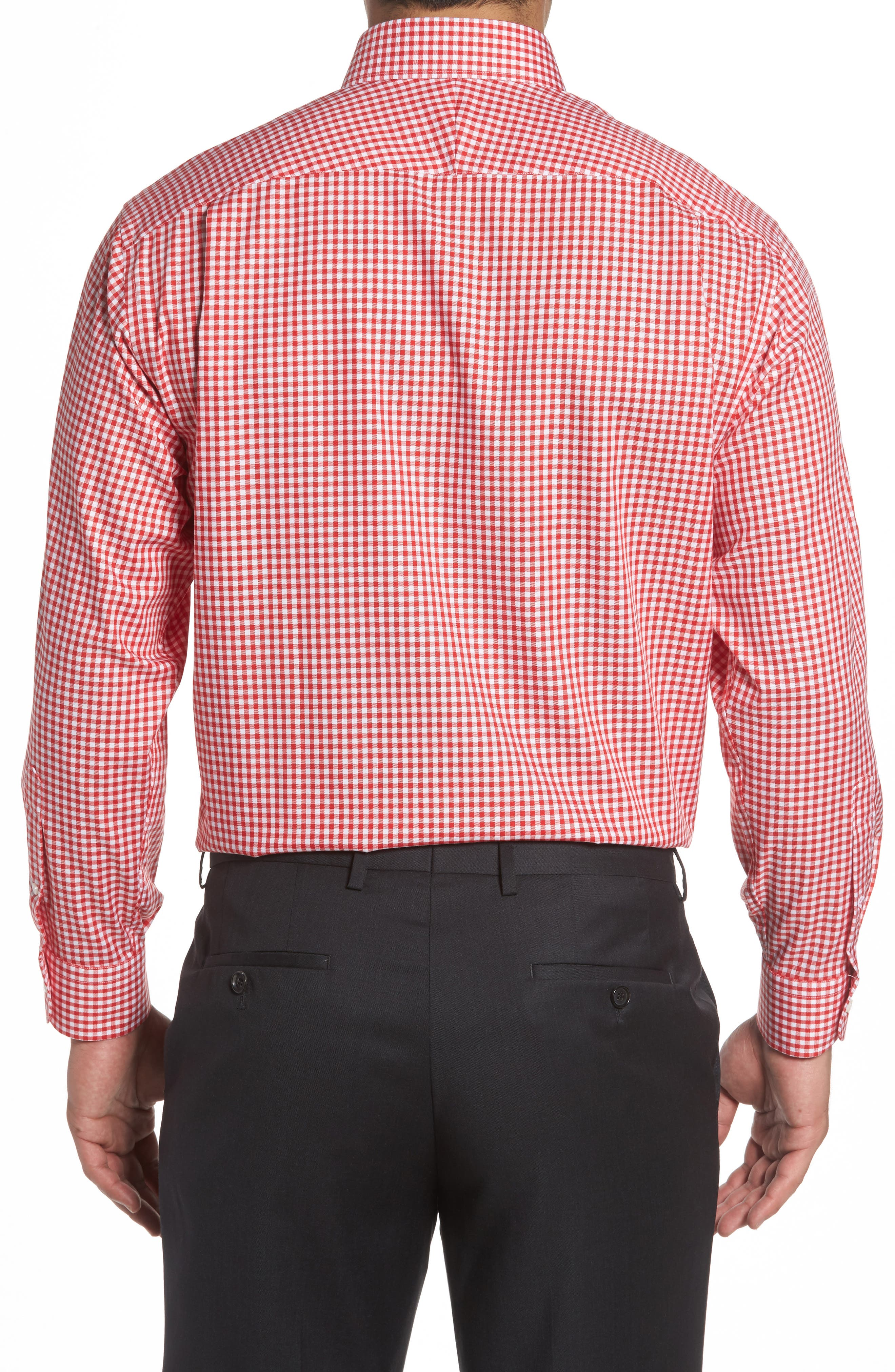 Alternate Image 3  - Nordstrom Men's Shop Classic Fit Non-Iron Gingham Dress Shirt (Online Only)