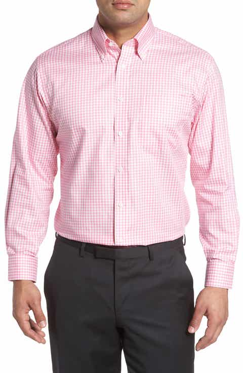Men's Pink Check & Plaid Dress Shirts | Nordstrom