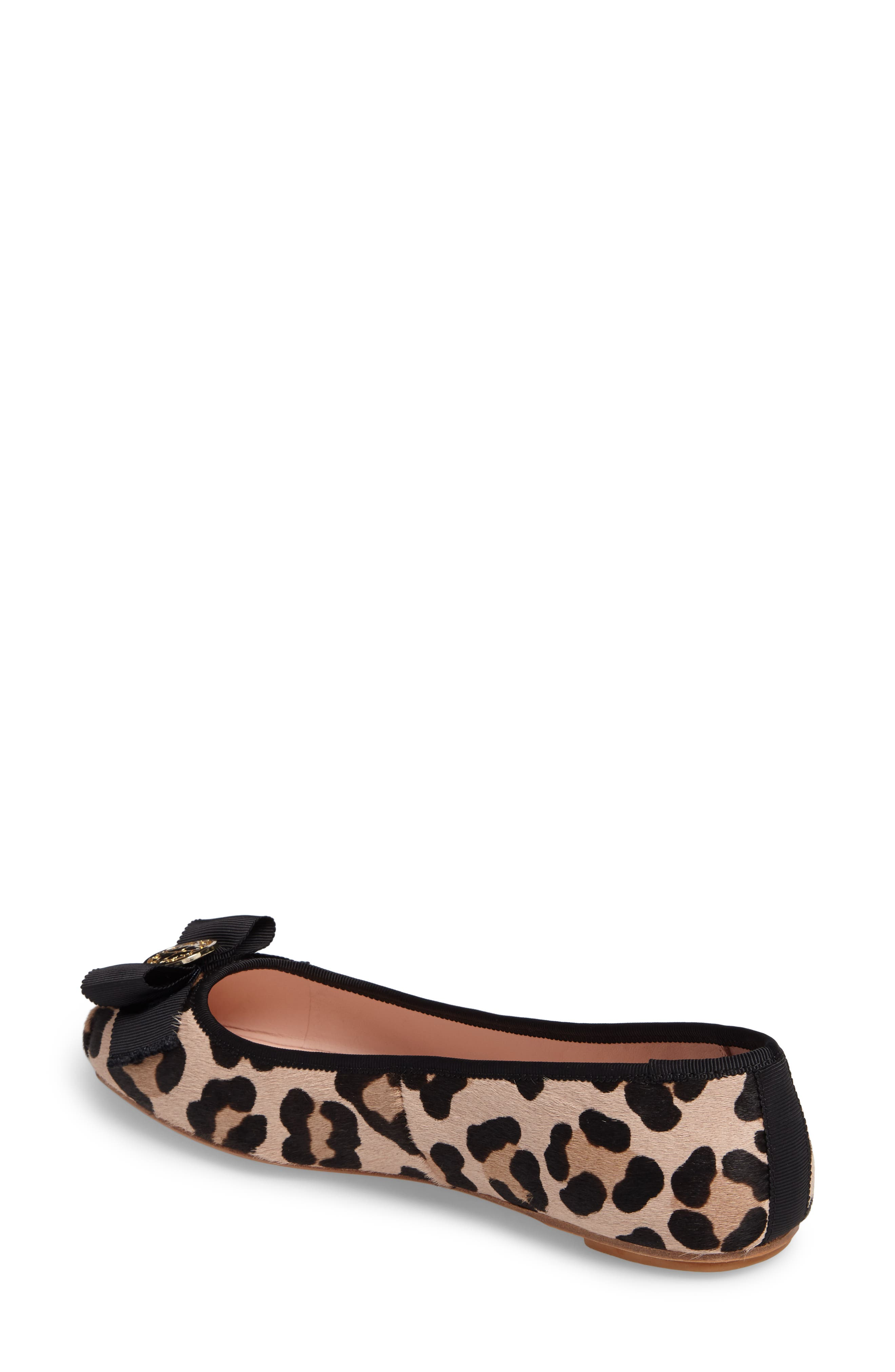 Alternate Image 3  - kate spade new york fontana too genuine calf hair ballet flat (Women)