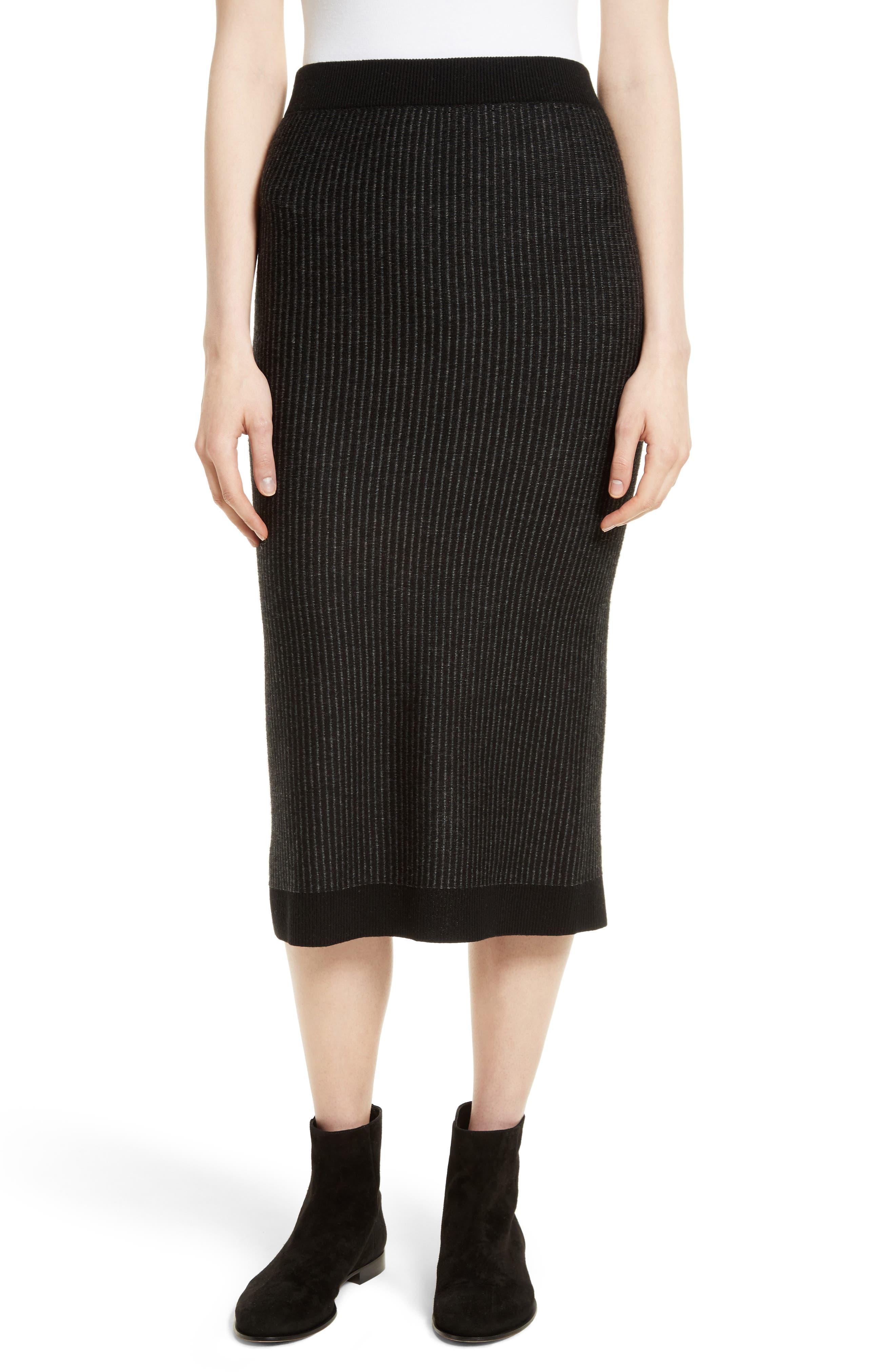 ATM Anthony Thomas Melillo Tube Sweater Skirt