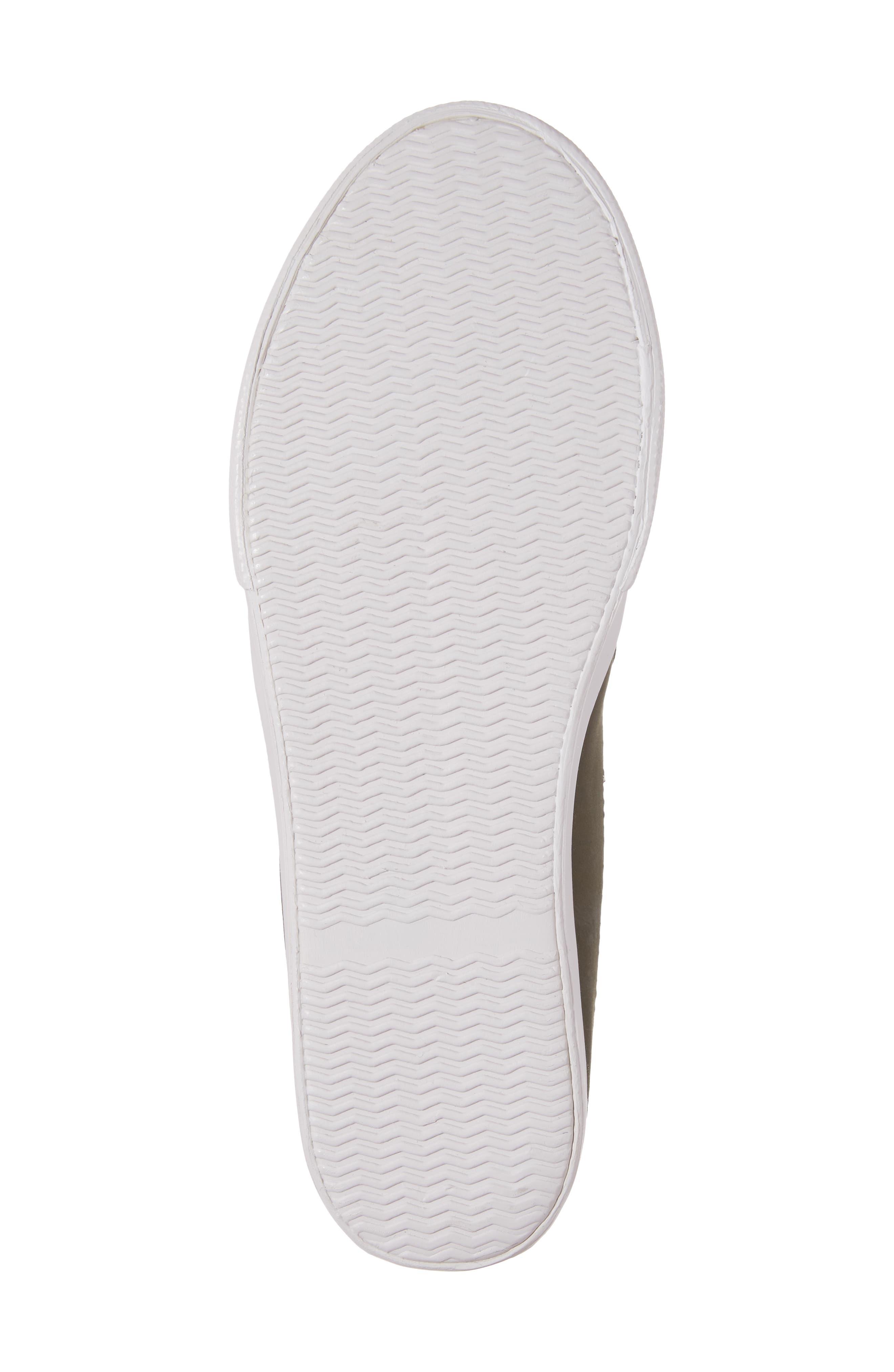 Tico Faux Fur Sneaker Mule,                             Alternate thumbnail 6, color,                             Olive Satin-Gold-Grey