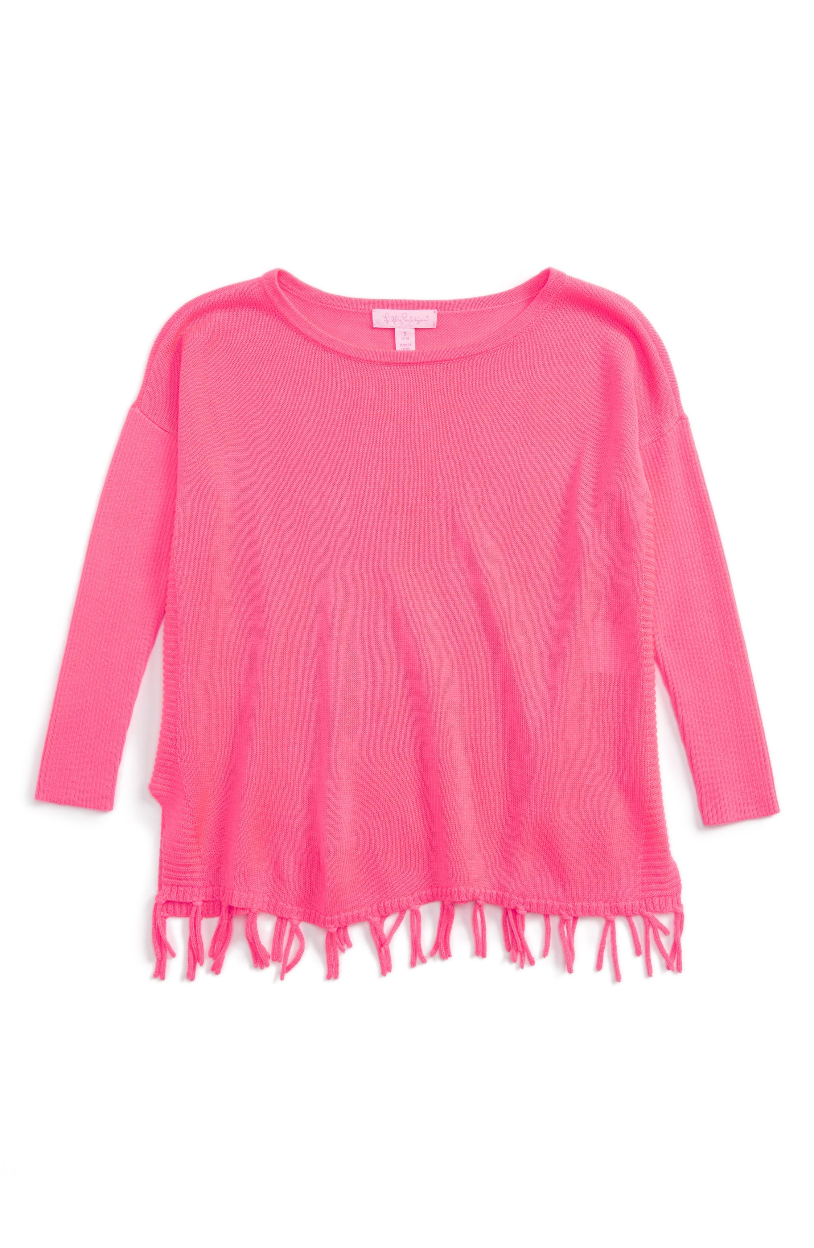 Main Image - Lilly Pulizter® Mini Ramona Sweater (Little Girls & Big Girls)