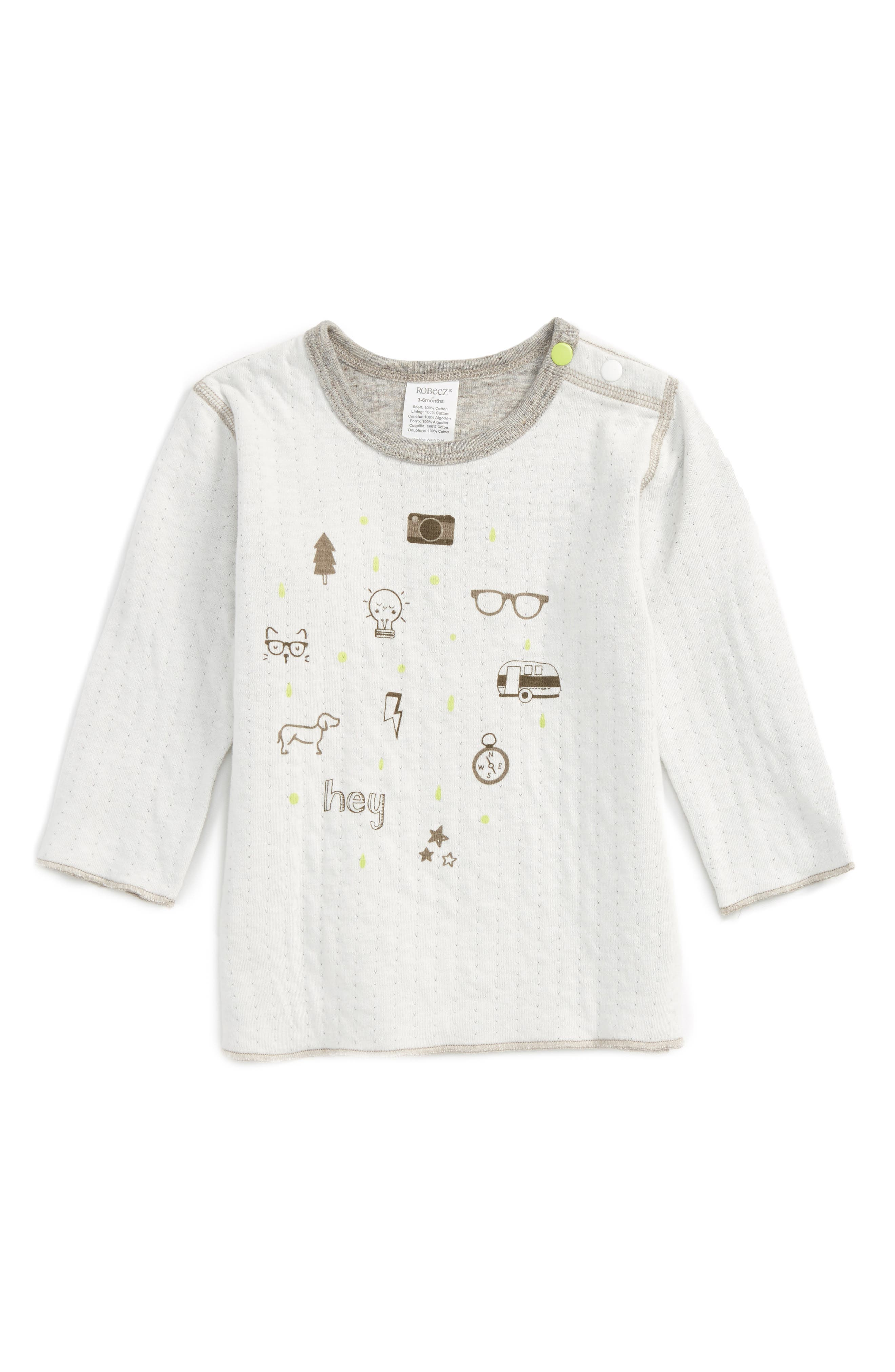 Robeez® Reversible Double Knit T-Shirt (Baby)