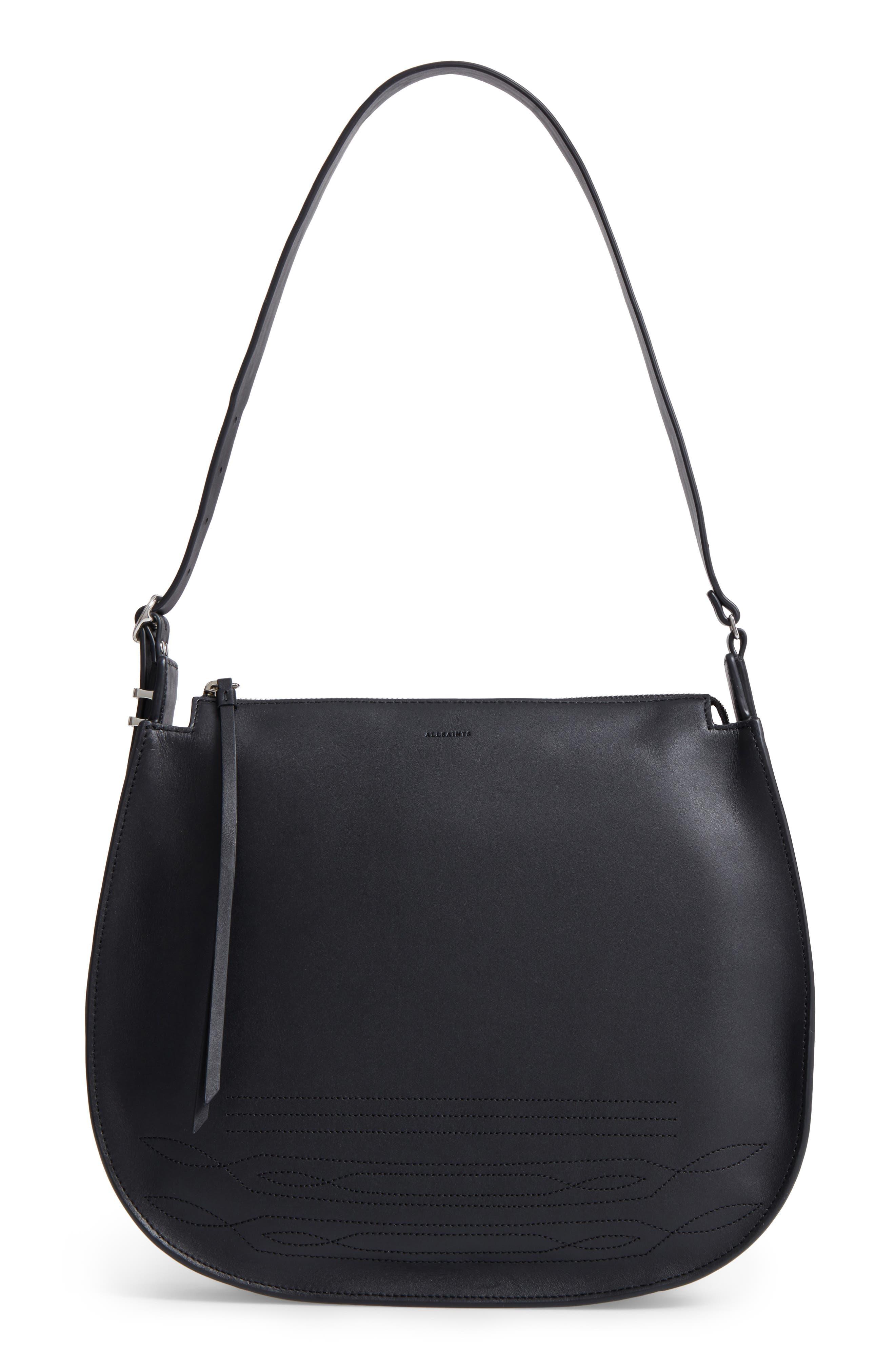 Main Image - ALLSAINTS Cooper Lea Calfskin Leather Hobo