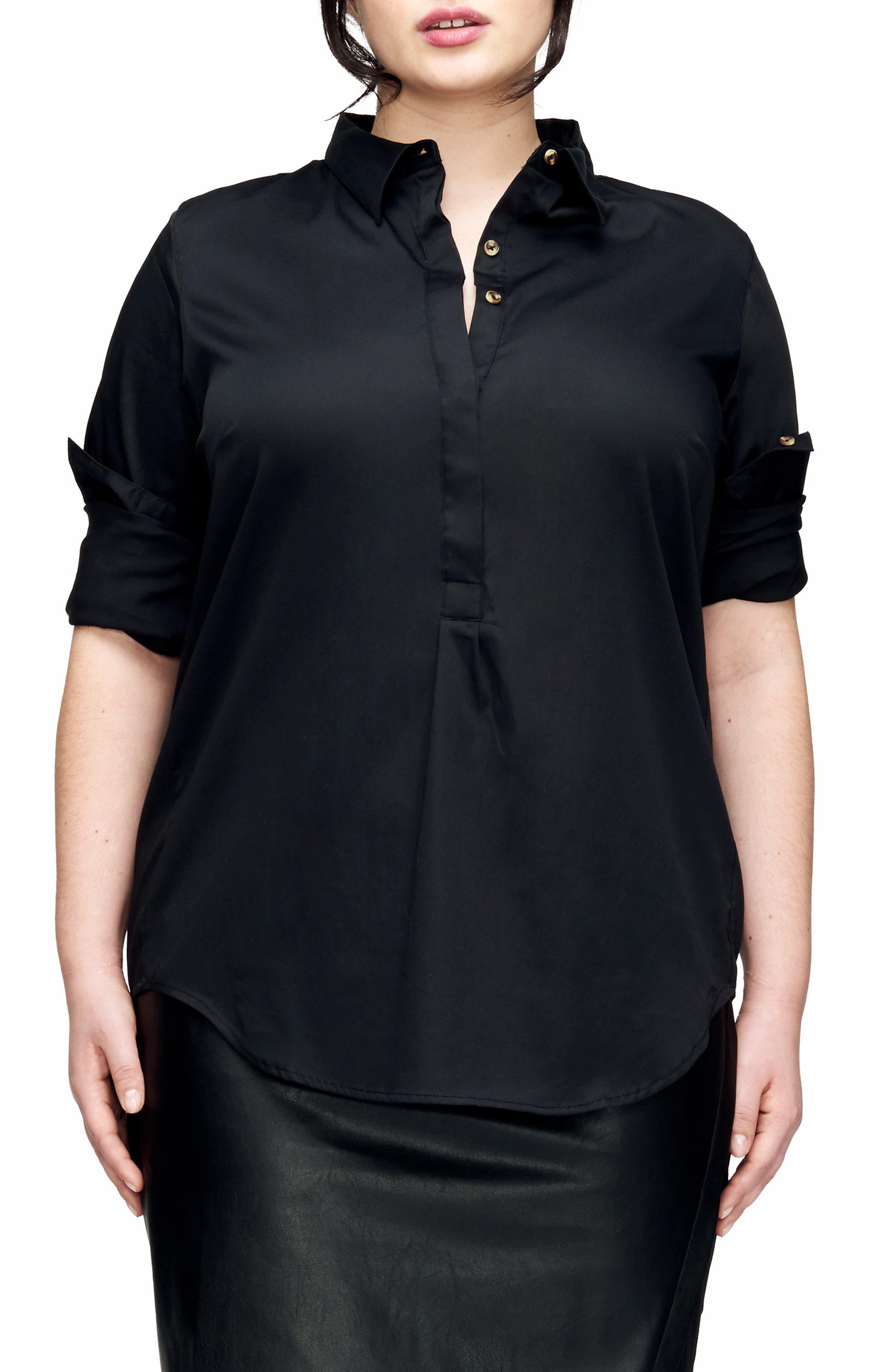 Main Image - UNIVERSAL STANDARD Elbe Shirt (Plus Size)