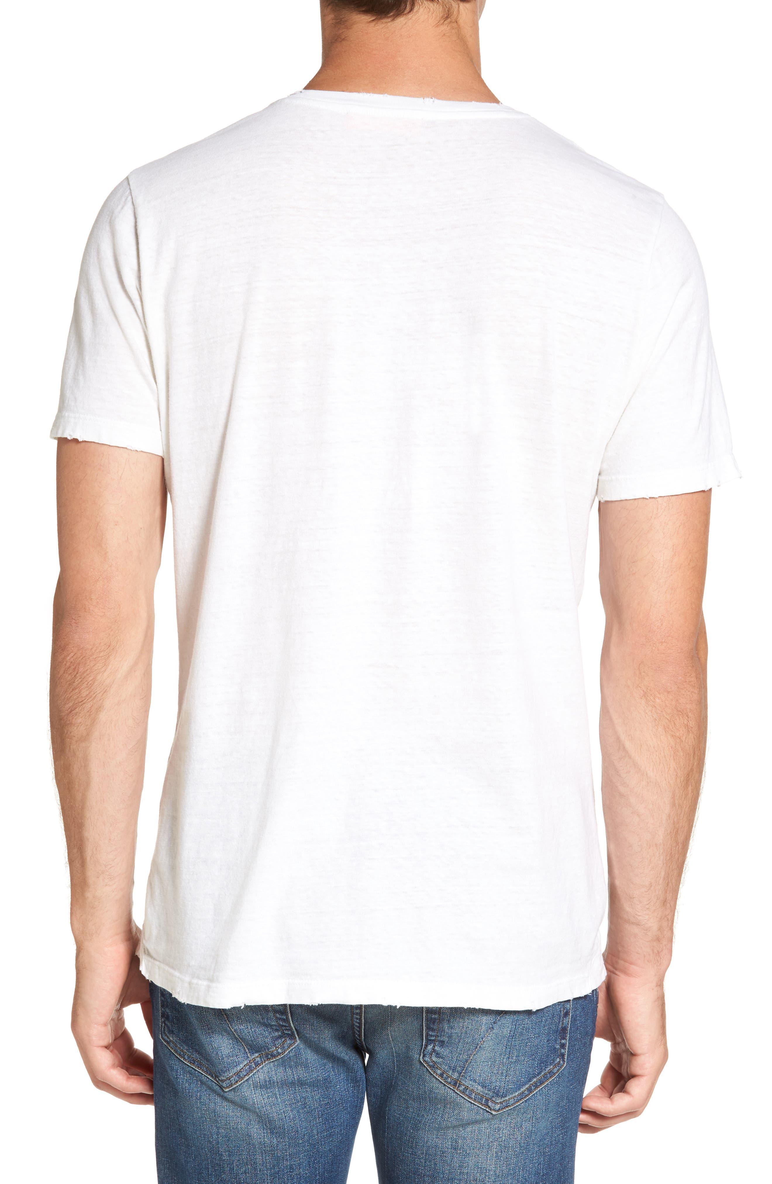Bronco 6 T-Shirt,                             Alternate thumbnail 2, color,                             Blanc