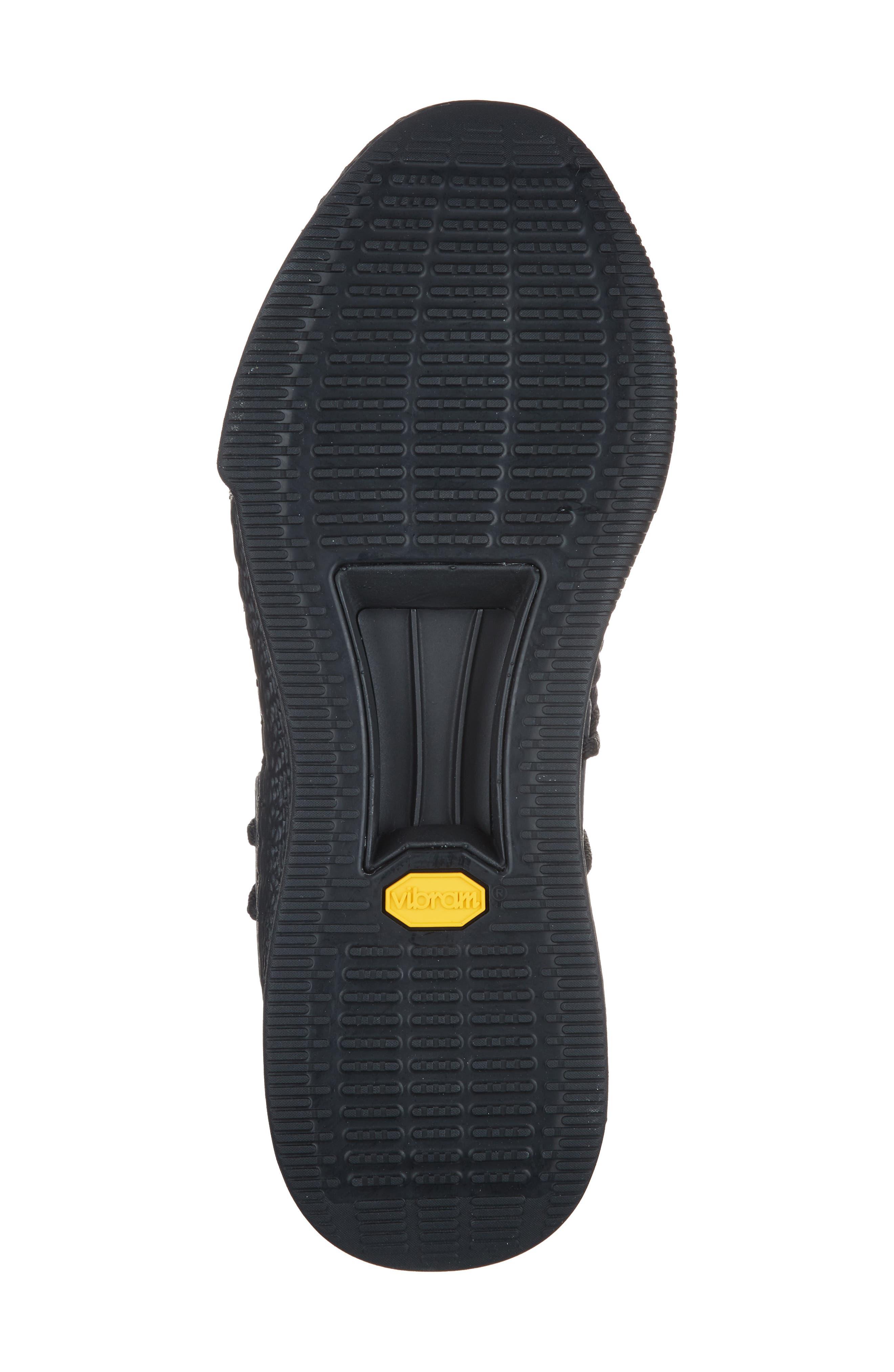 Delta Sneaker,                             Alternate thumbnail 6, color,                             Black